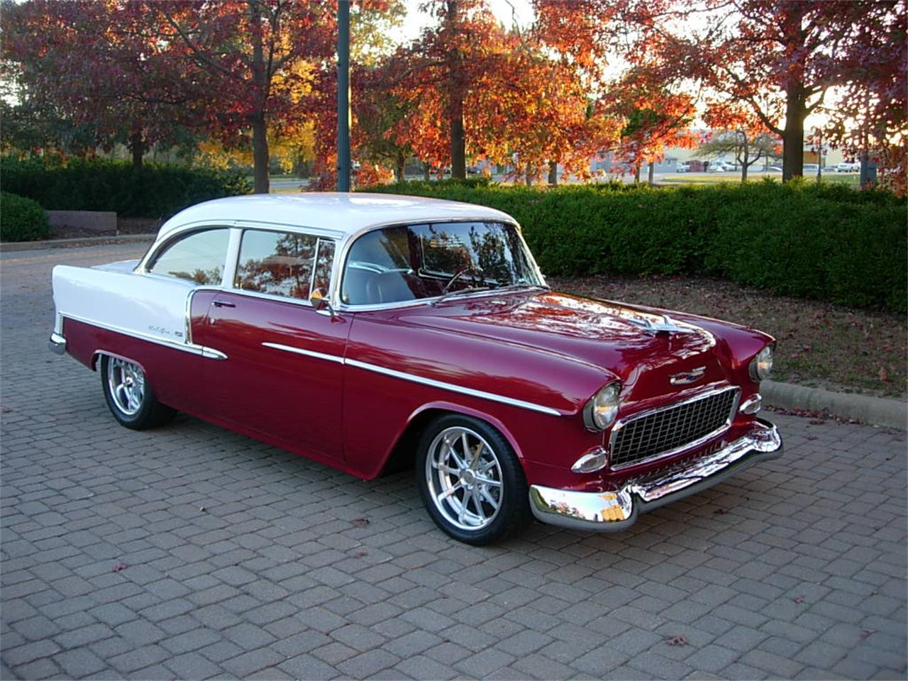 Large Picture of '55 Bel Air located in Ohio Offered by JJ Rods, LLC - FV0C
