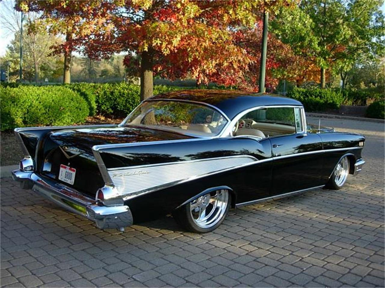 Large Picture of Classic '57 Chevrolet Bel Air located in Newark Ohio Auction Vehicle Offered by JJ Rods, LLC - FV0D