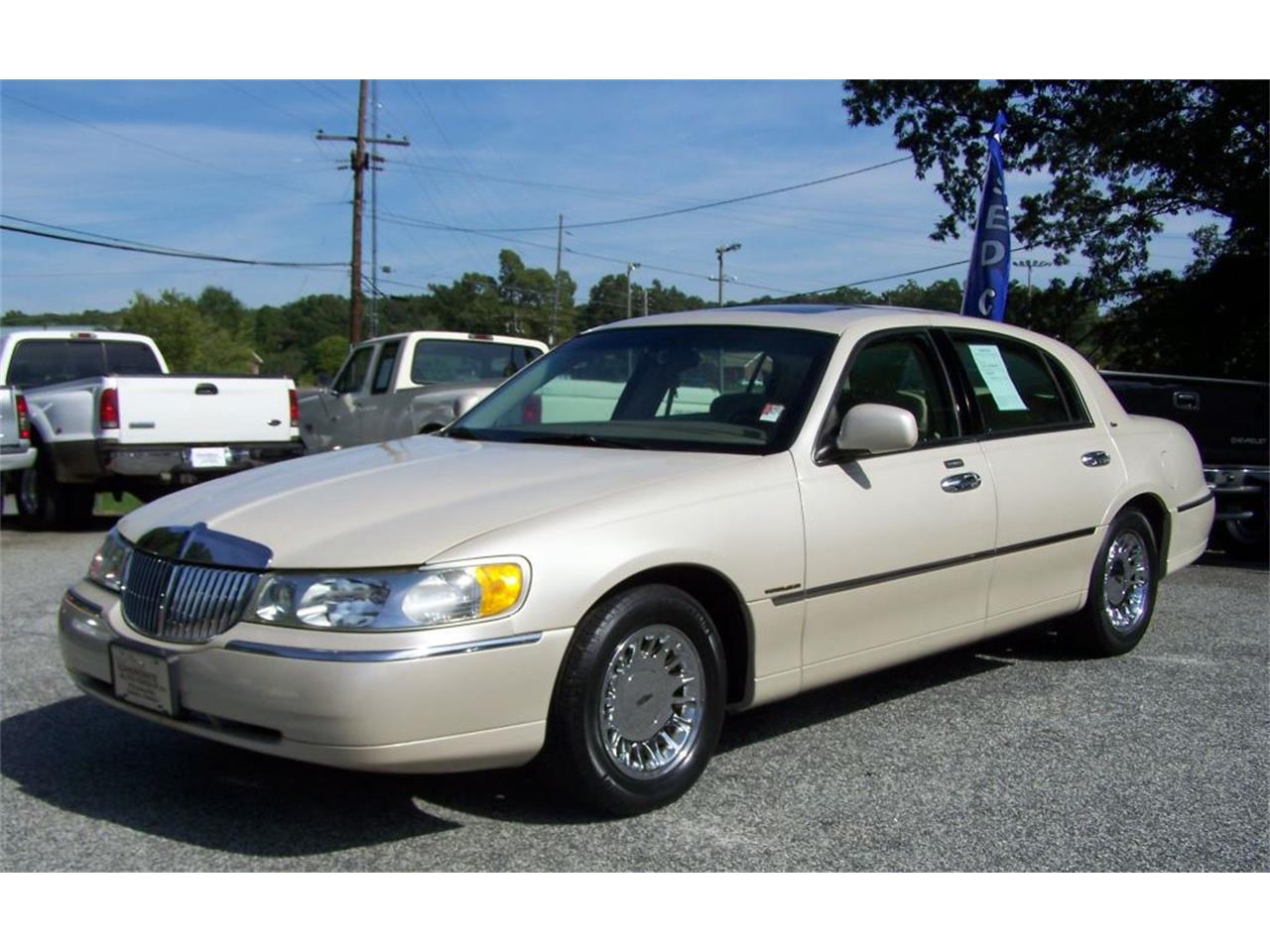 2002 Lincoln Town Car Cartier 4d For Sale Classiccars Com Cc 743440