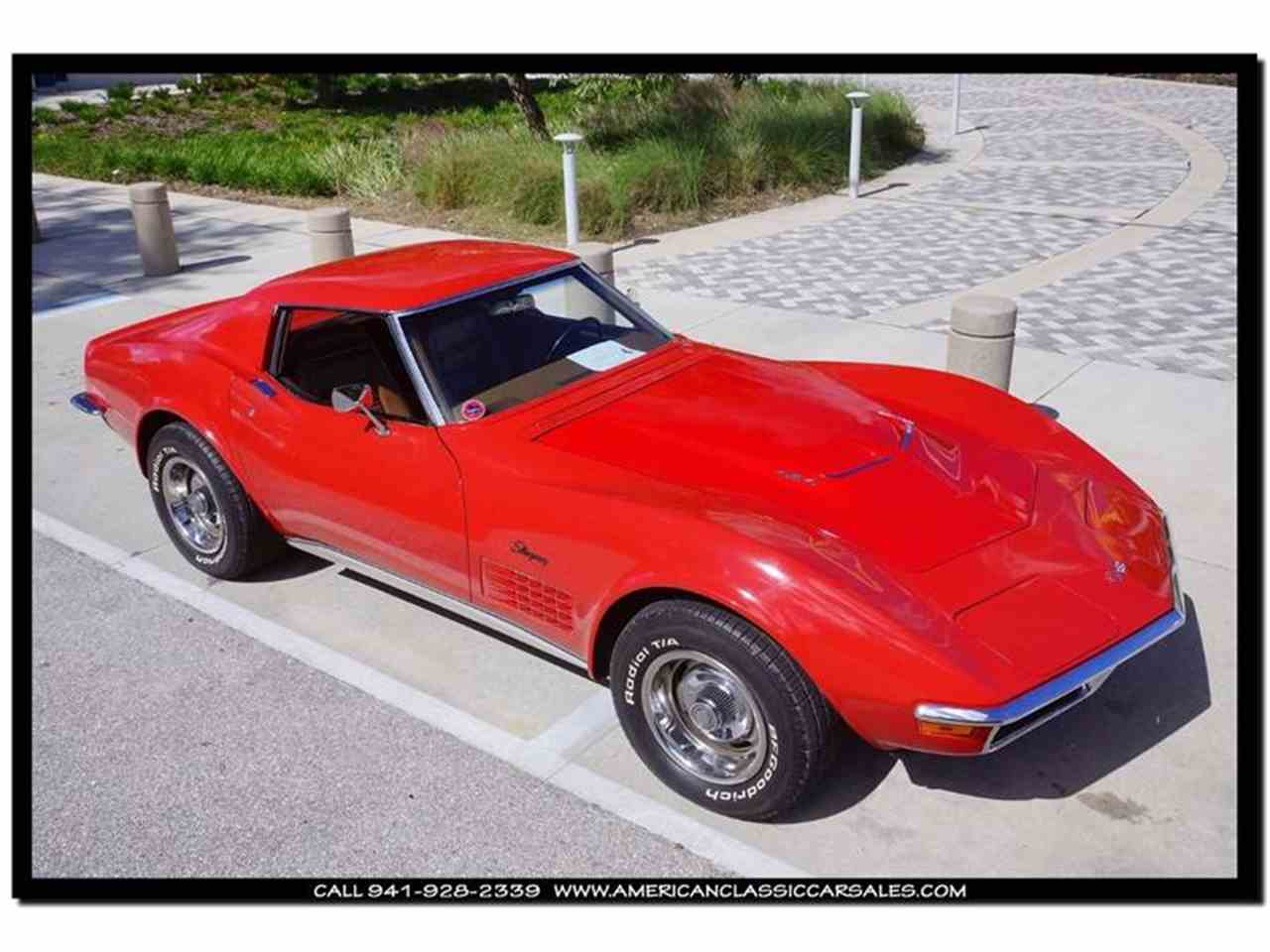 Large Picture of '72 Corvette located in Sarasota Florida - $39,590.00 Offered by American Classic Car Sales - FXP2