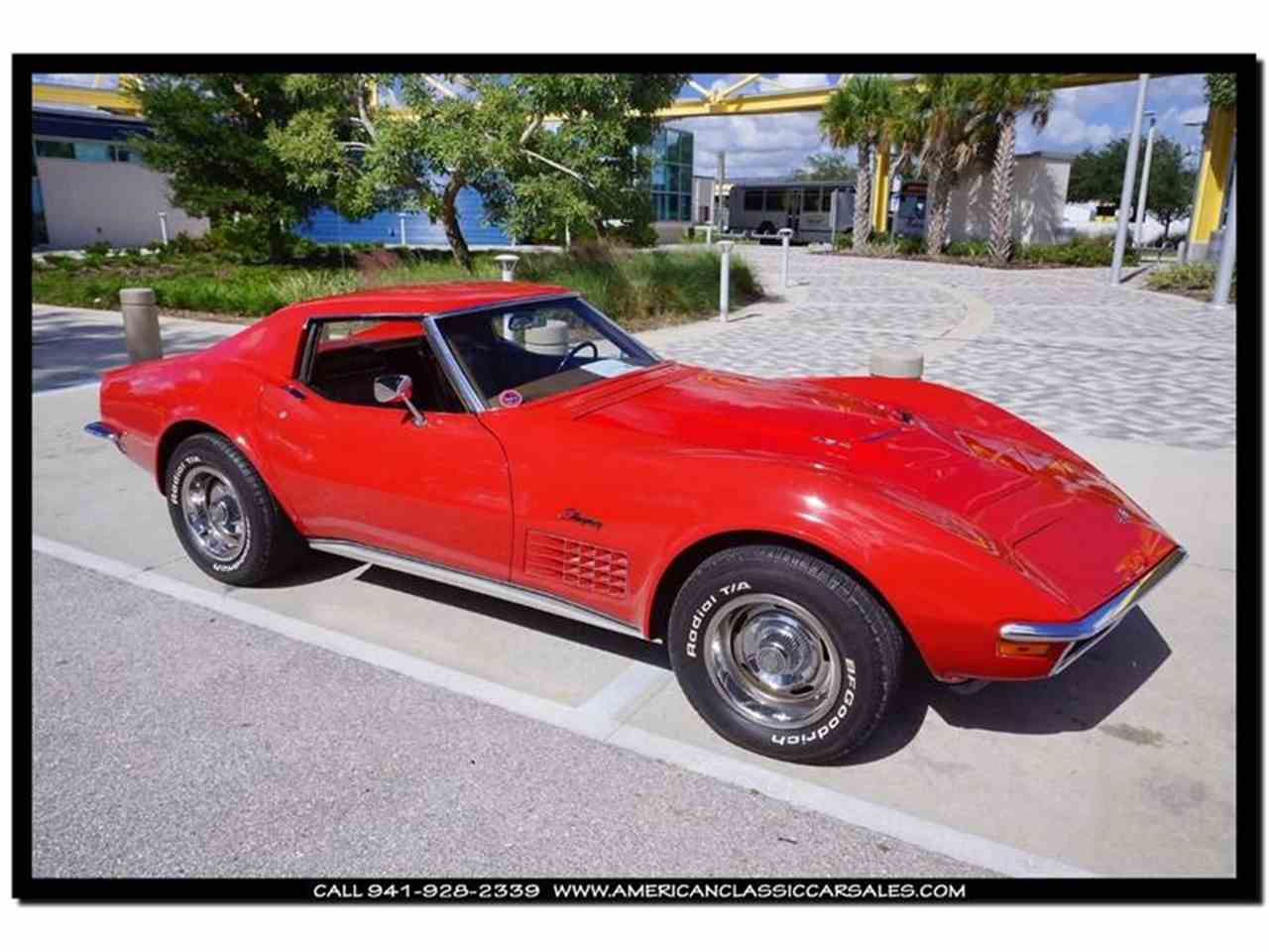 Large Picture of Classic '72 Chevrolet Corvette - $39,590.00 Offered by American Classic Car Sales - FXP2