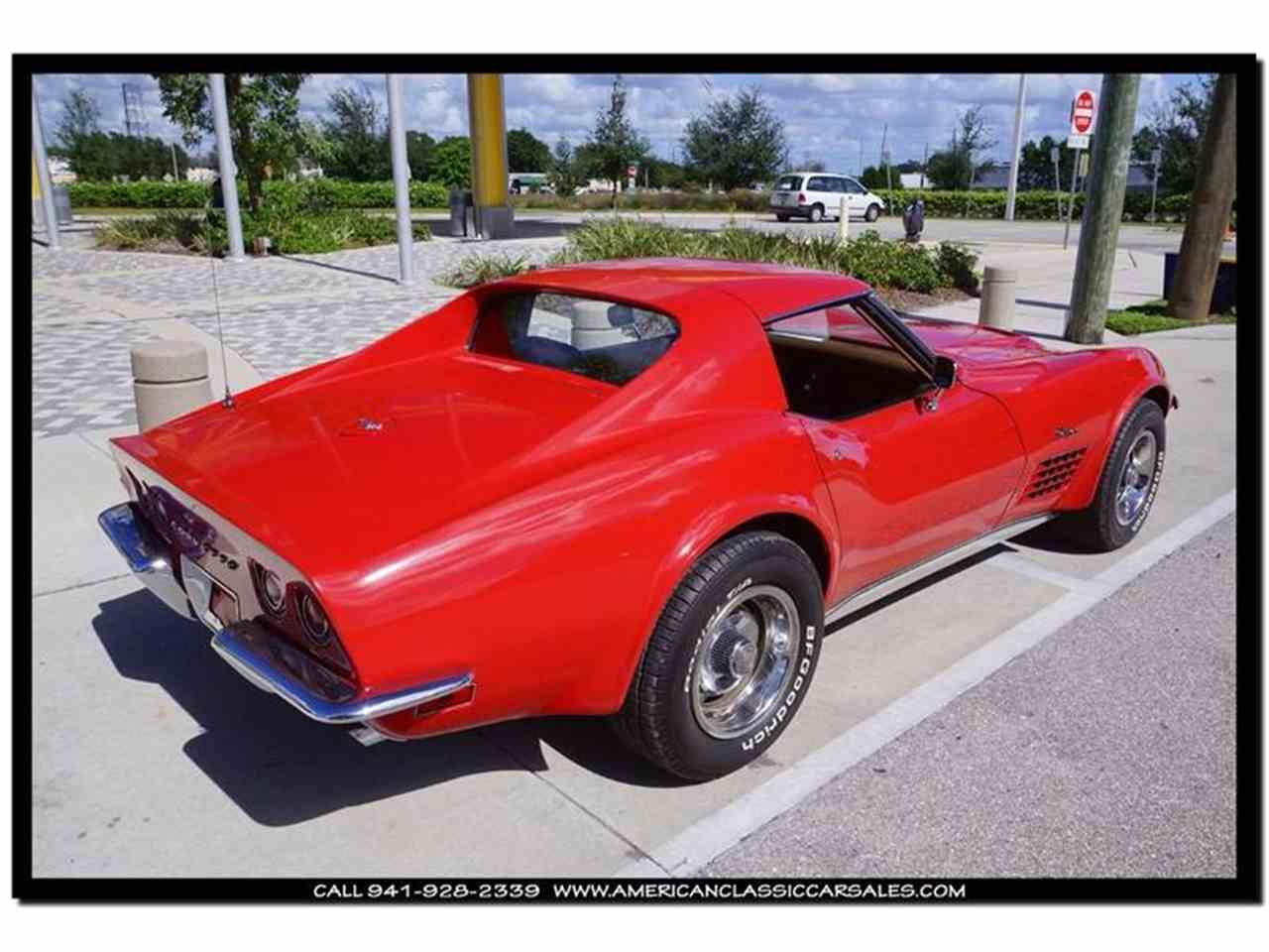 Large Picture of Classic 1972 Chevrolet Corvette located in Sarasota Florida Offered by American Classic Car Sales - FXP2