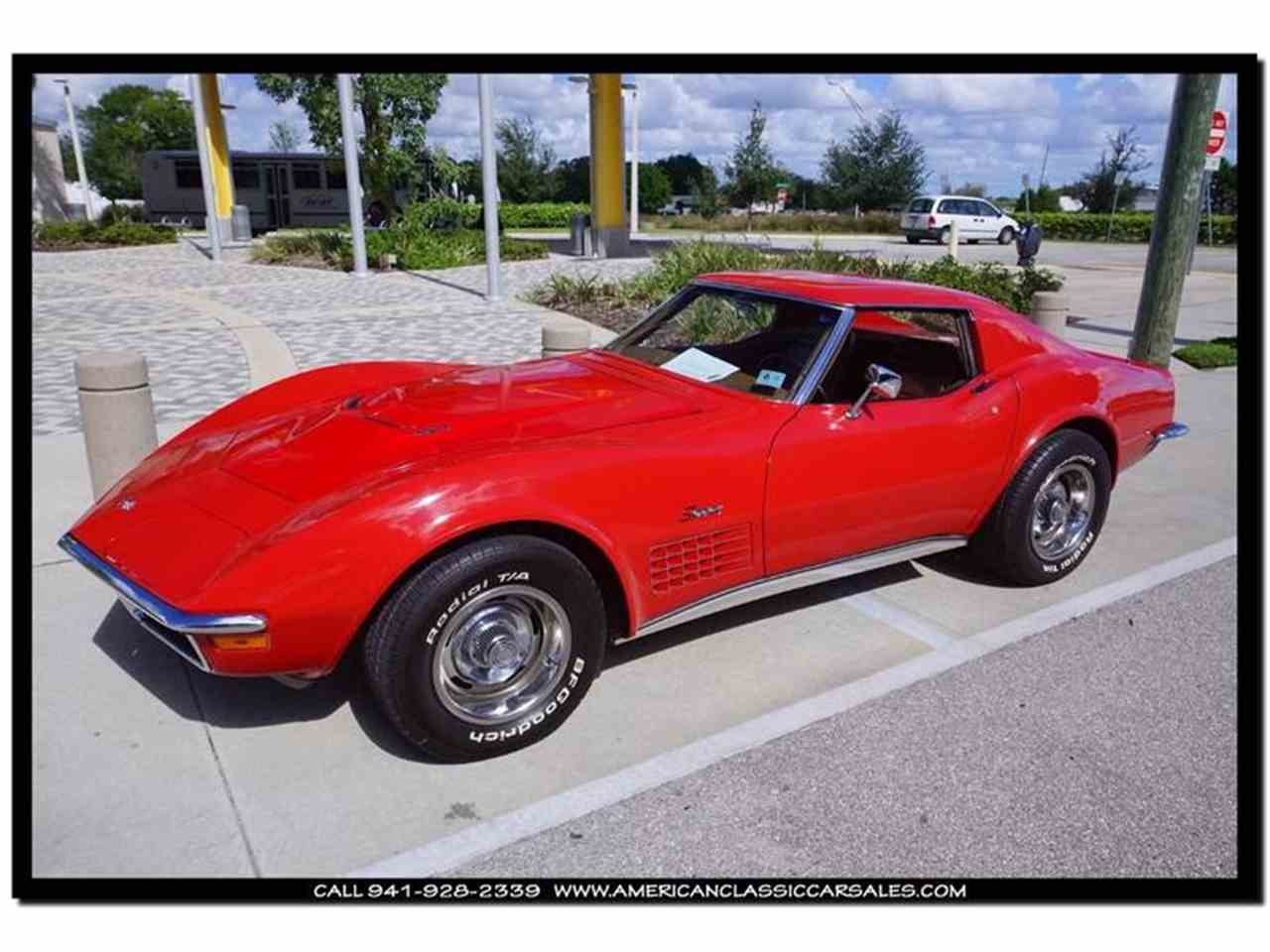 Large Picture of Classic '72 Corvette located in Sarasota Florida Offered by American Classic Car Sales - FXP2