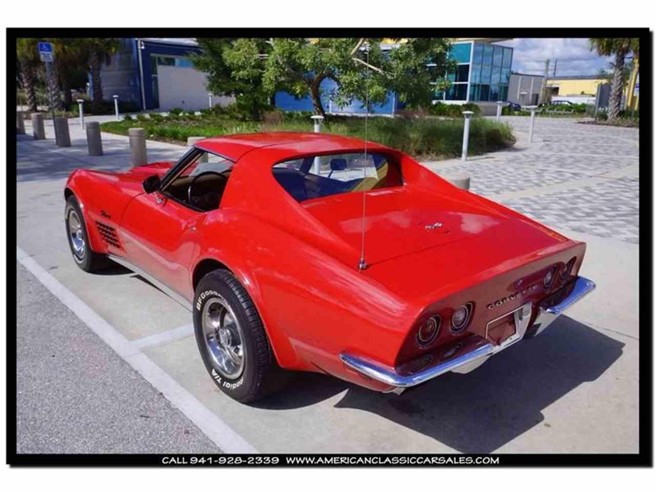 Large Picture of 1972 Corvette located in Sarasota Florida - FXP2