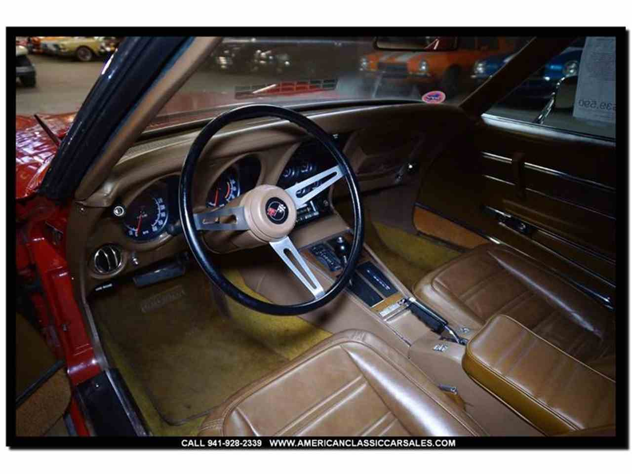 Large Picture of Classic 1972 Corvette located in Sarasota Florida Offered by American Classic Car Sales - FXP2