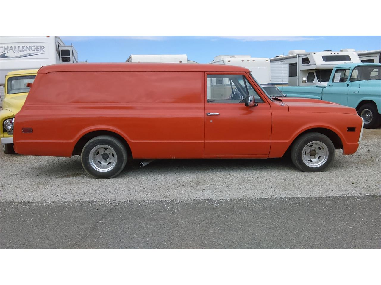 Large Picture of 1969 Chevrolet Panel Truck located in Arizona Offered by Desert Gardens Classic Cars - FYHR