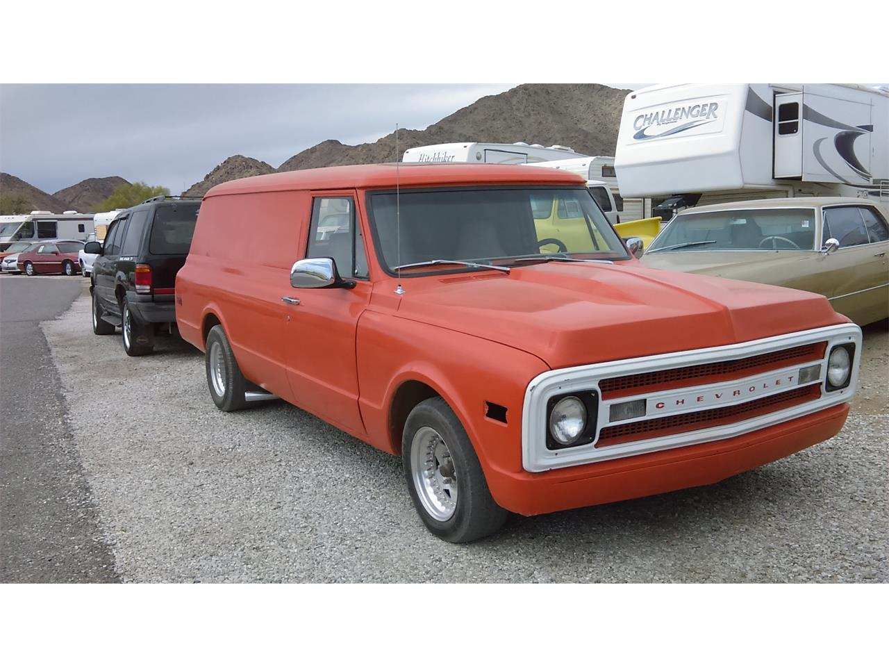 Large Picture of '69 Chevrolet Panel Truck located in Quartzsite Arizona Offered by Desert Gardens Classic Cars - FYHR