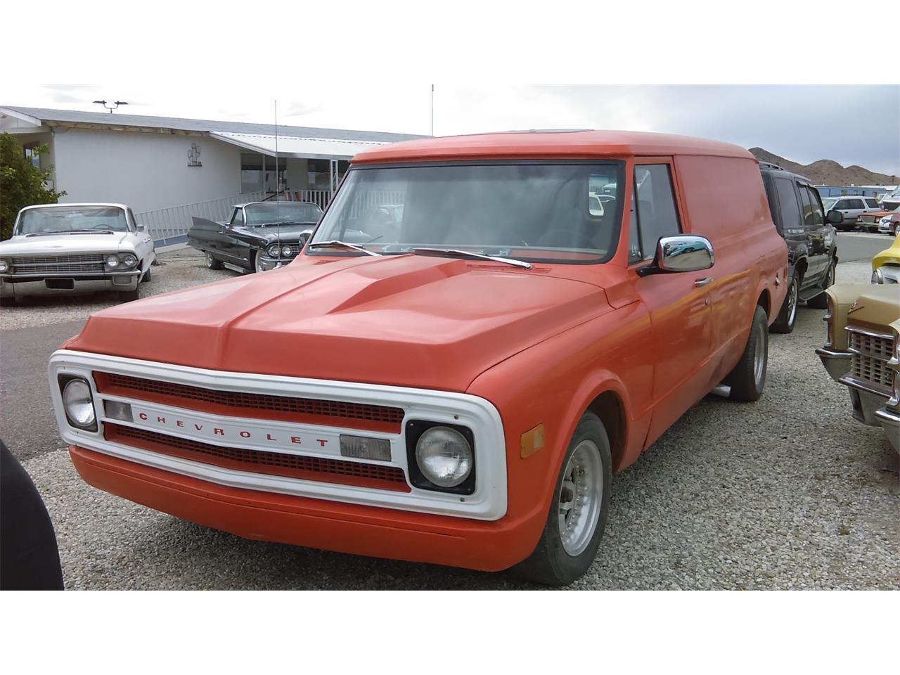 1969 Chevrolet Panel Truck For Sale