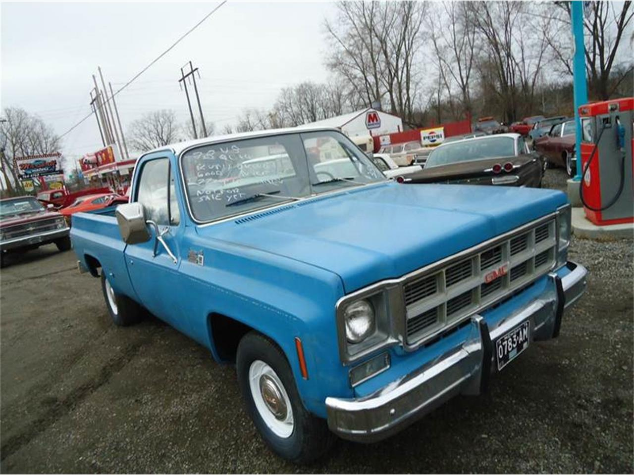 Large Picture of 1978 GMC C/K 1500 located in Michigan Offered by Marshall Motors - FZP1