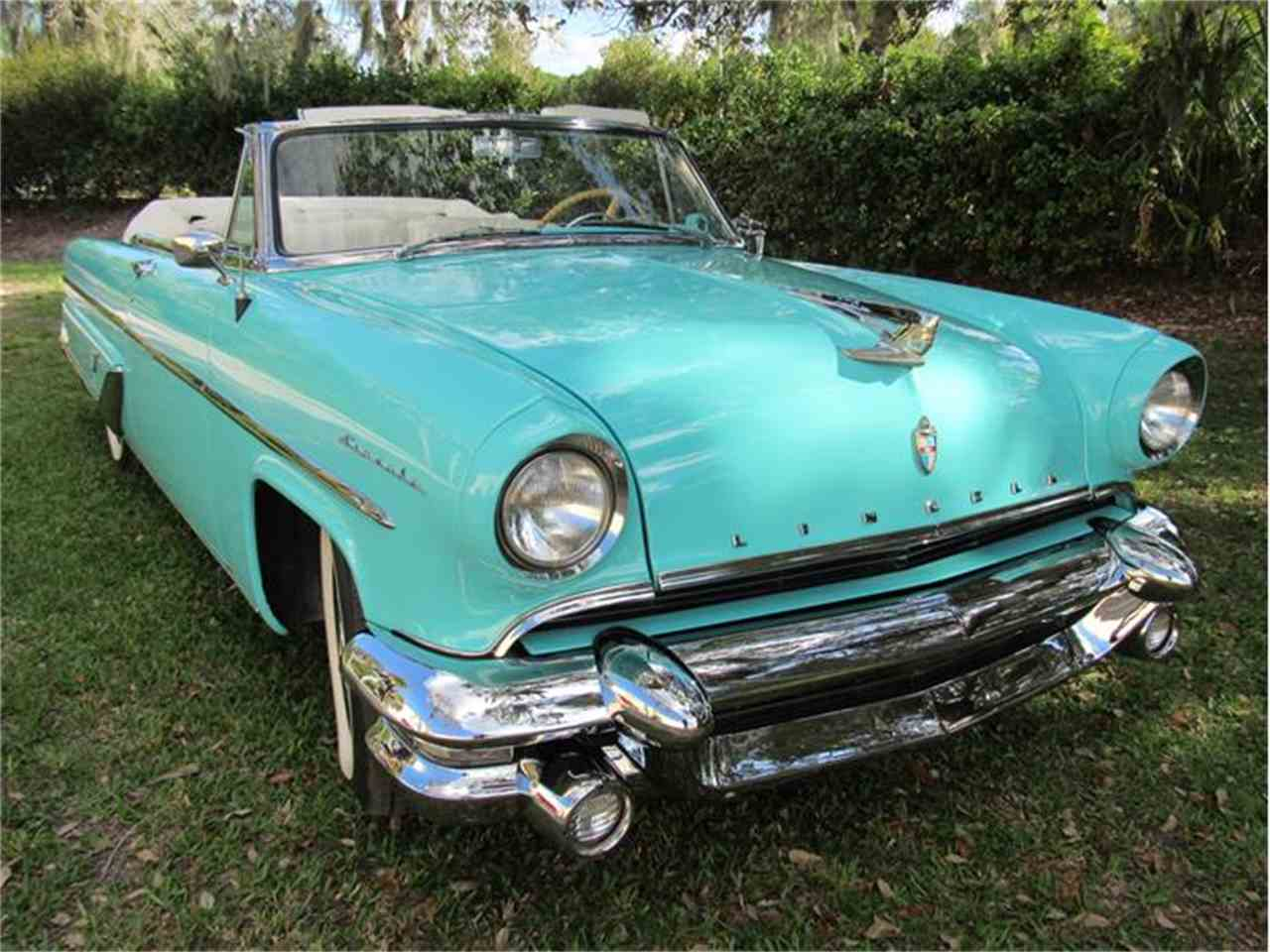 Large Picture of Classic 1955 Lincoln Capri Offered by Vintage Motors Sarasota - G0EI