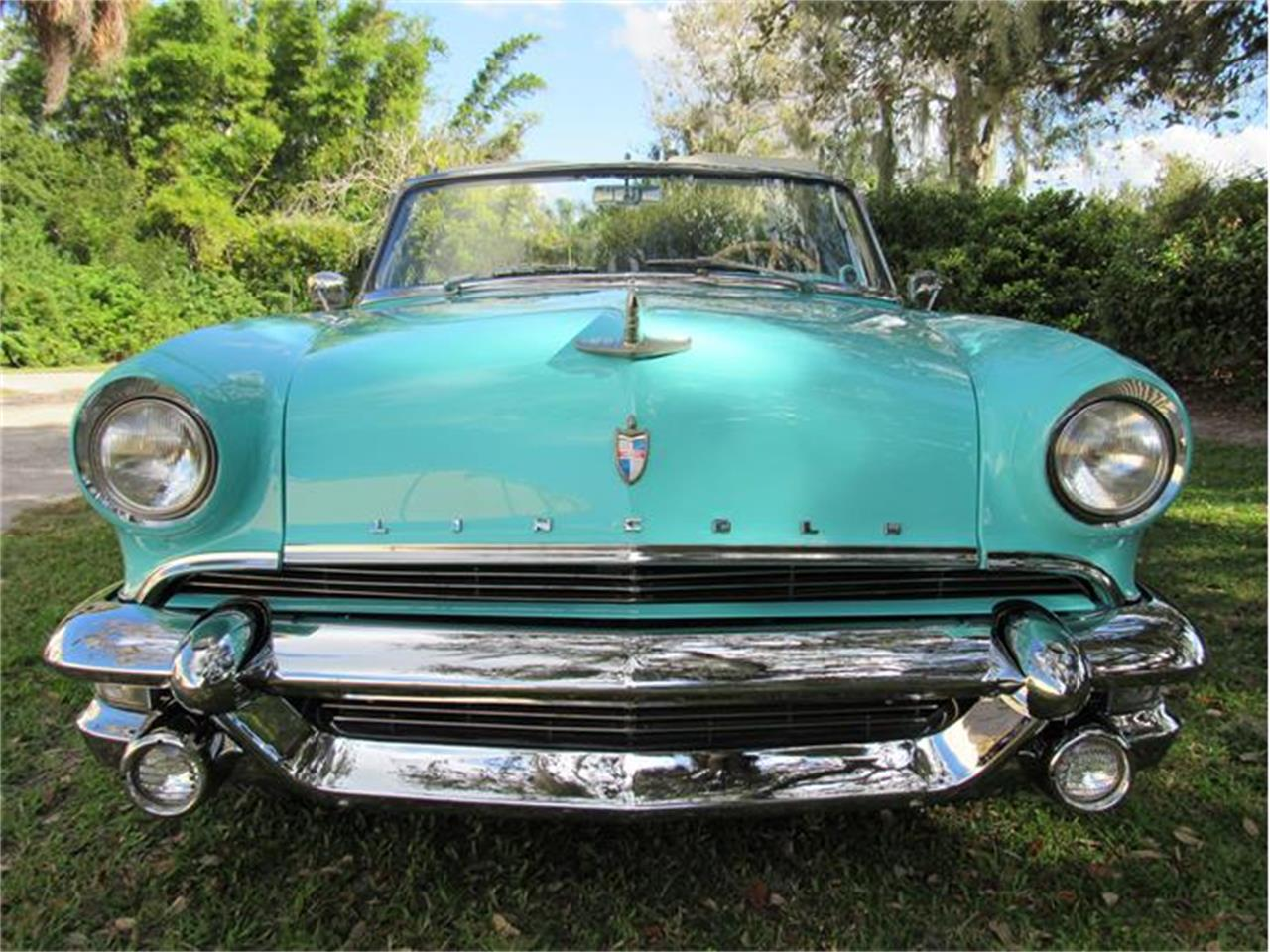 Large Picture of Classic '55 Lincoln Capri located in Sarasota Florida Offered by Vintage Motors Sarasota - G0EI