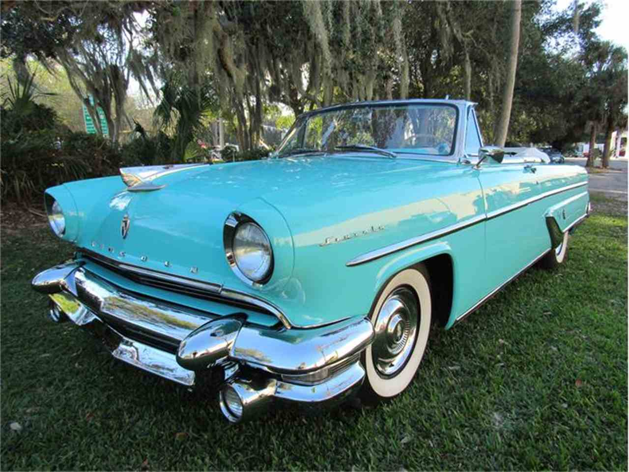 Large Picture of '55 Lincoln Capri Offered by Vintage Motors Sarasota - G0EI