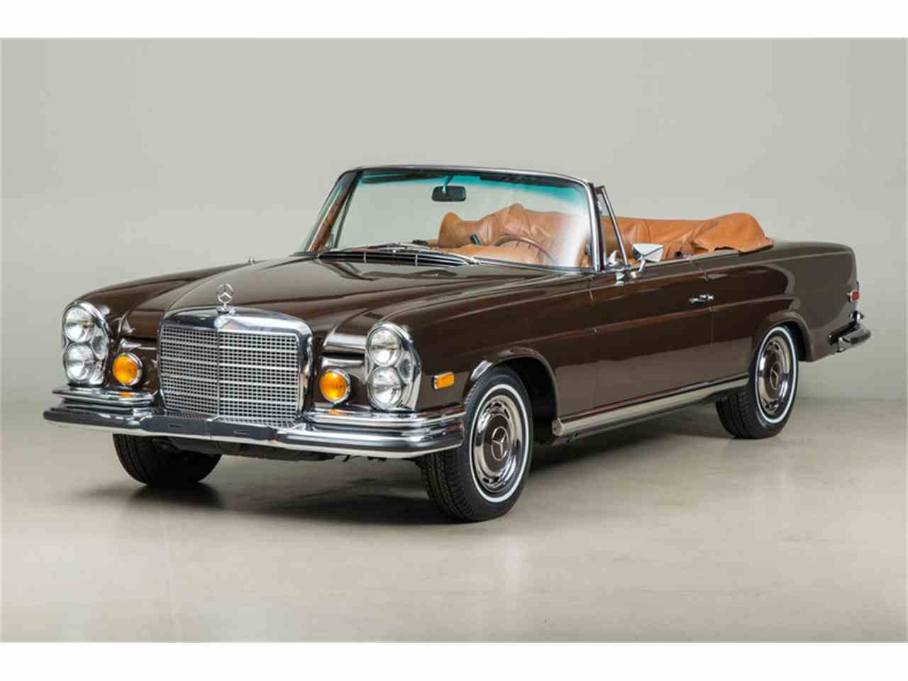1971 mercedes benz 280 se 3 5 cabriolet for sale cc 747206. Black Bedroom Furniture Sets. Home Design Ideas
