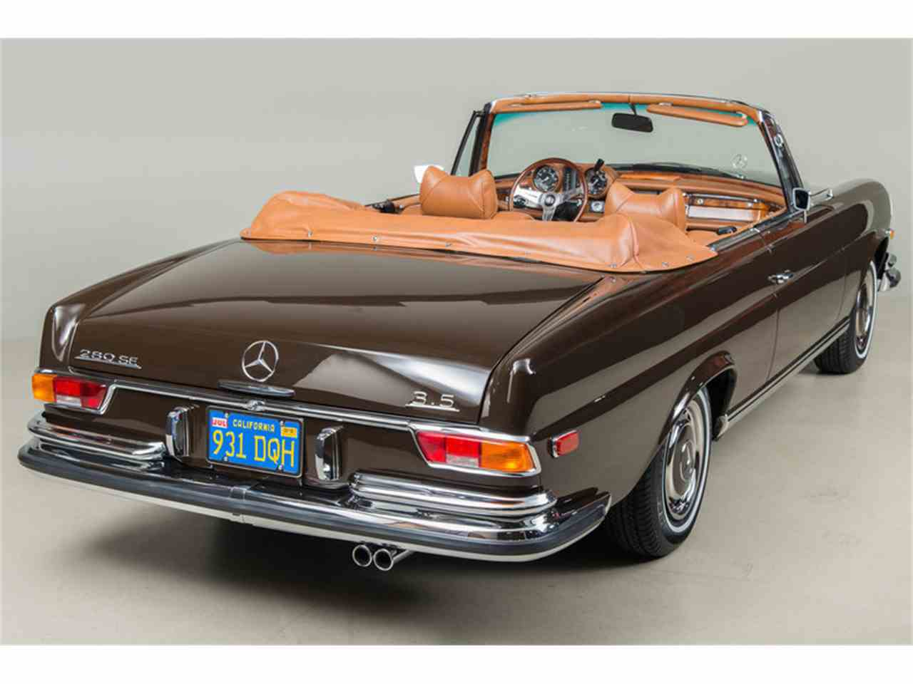 Large Picture of '71 280 SE 3.5 Cabriolet - G0JQ