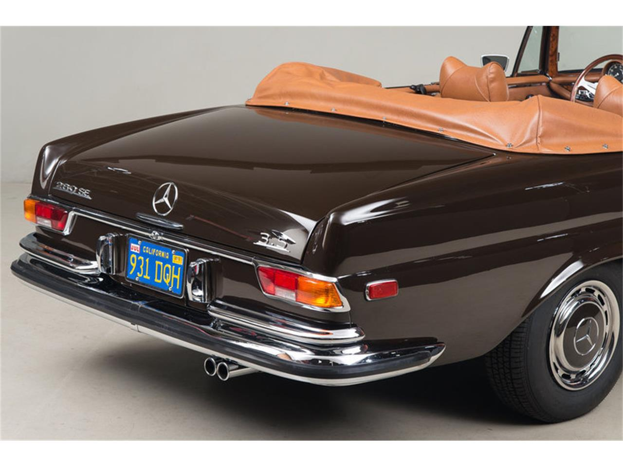 Large Picture of Classic 1971 280 SE 3.5 Cabriolet Auction Vehicle - G0JQ