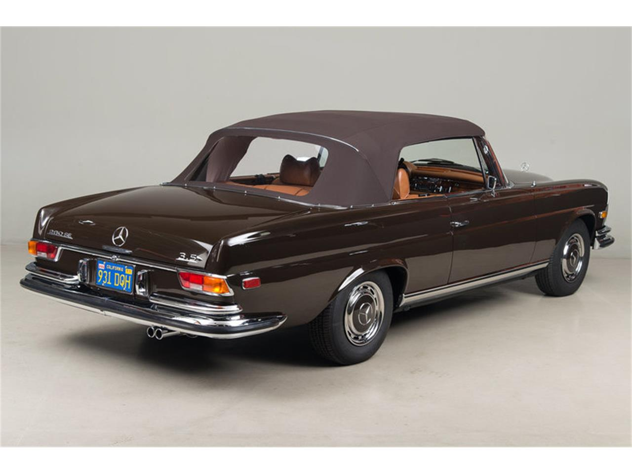 Large Picture of 1971 Mercedes-Benz 280 SE 3.5 Cabriolet Auction Vehicle Offered by Canepa - G0JQ