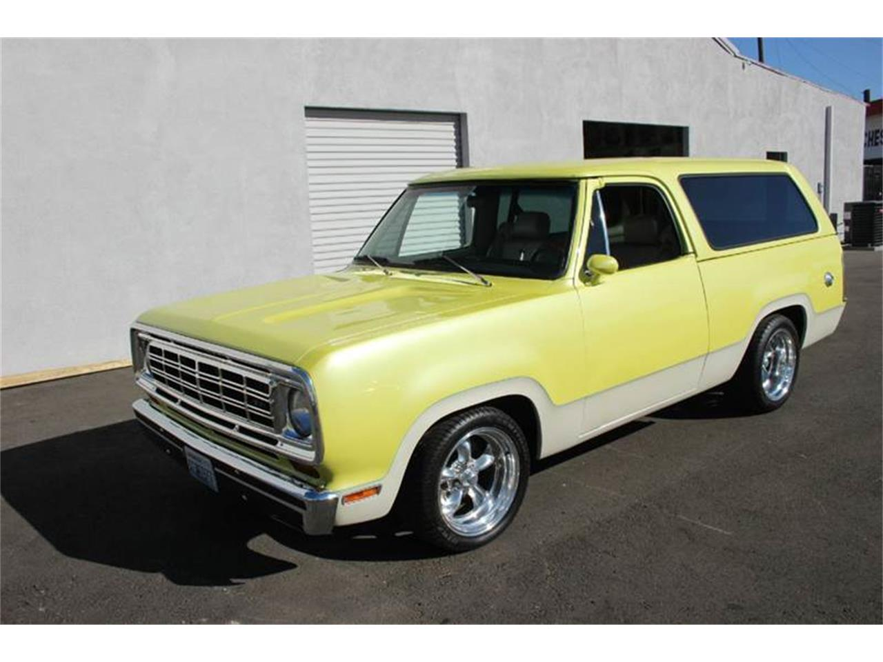 1977 Dodge Ramcharger For Sale Classiccars Com Cc 747401