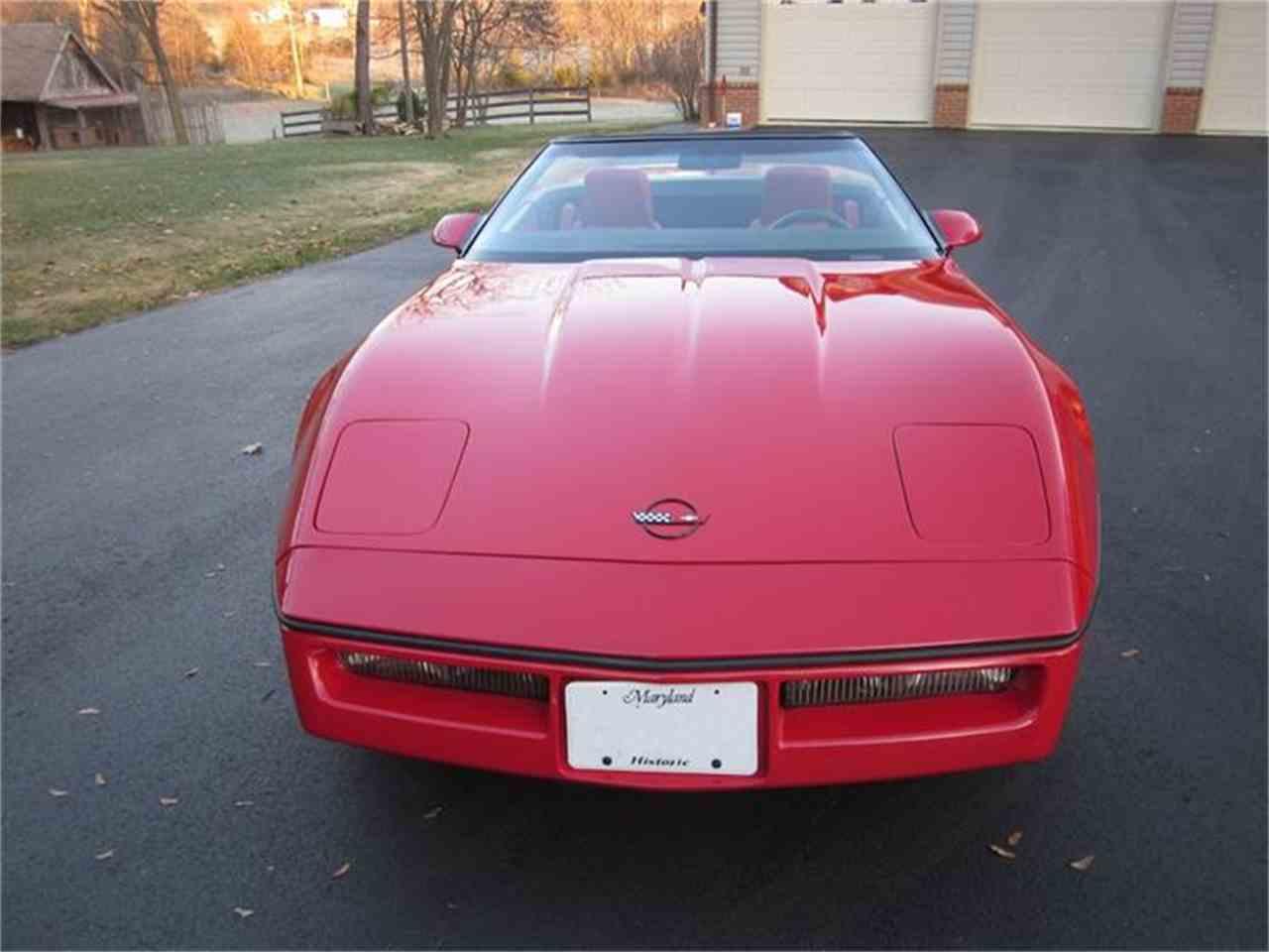 Large Picture of '87 Corvette - G17E