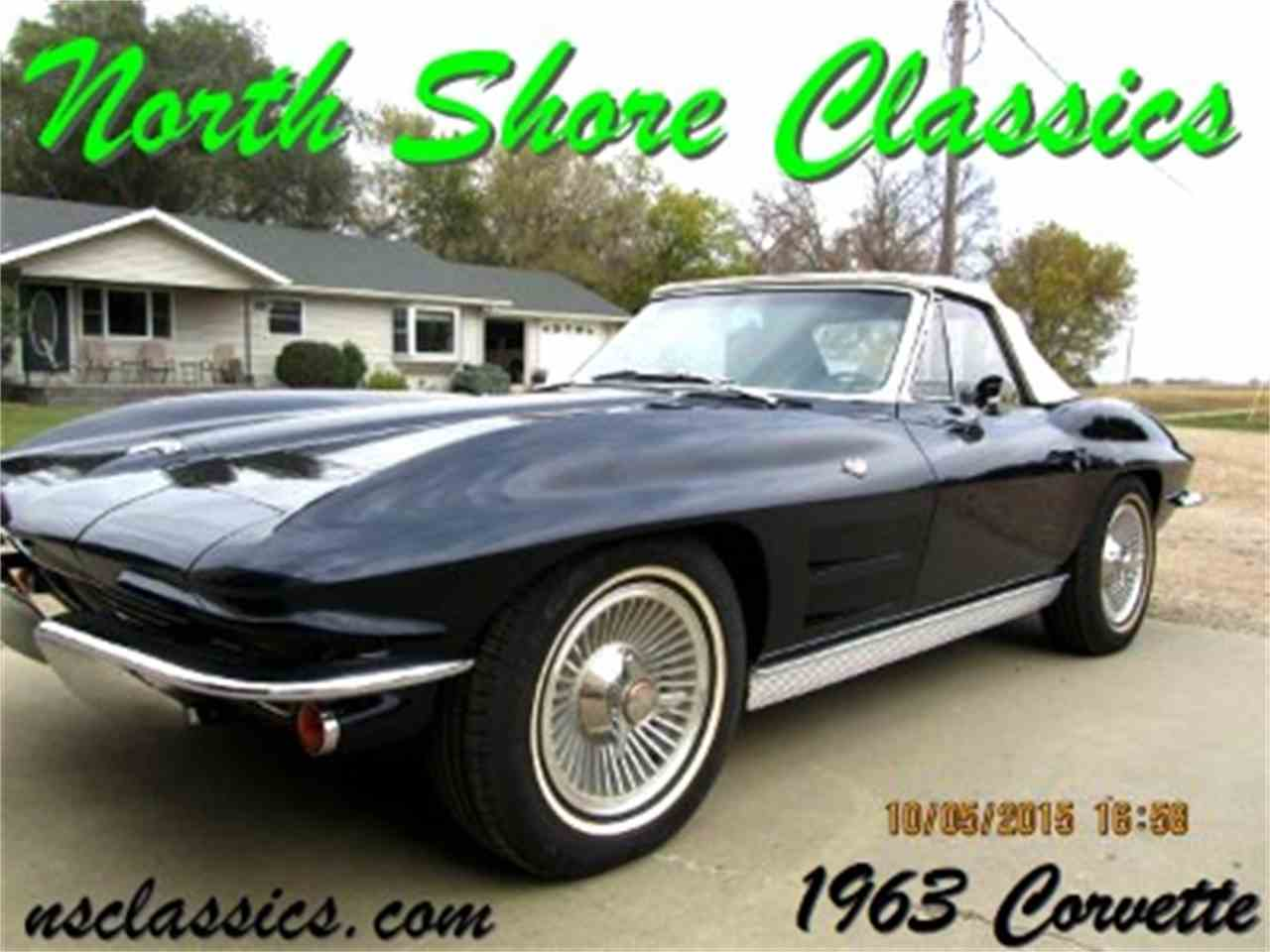 Large Picture of '63 Corvette located in Palatine Illinois Offered by North Shore Classics - G3TA