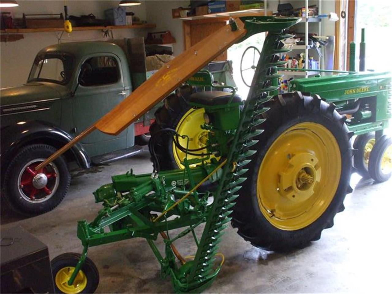 Large Picture of Classic '49 John Deere Tractor located in Arundel Maine - $7,850.00 Offered by Champion Auto Sales - G48H