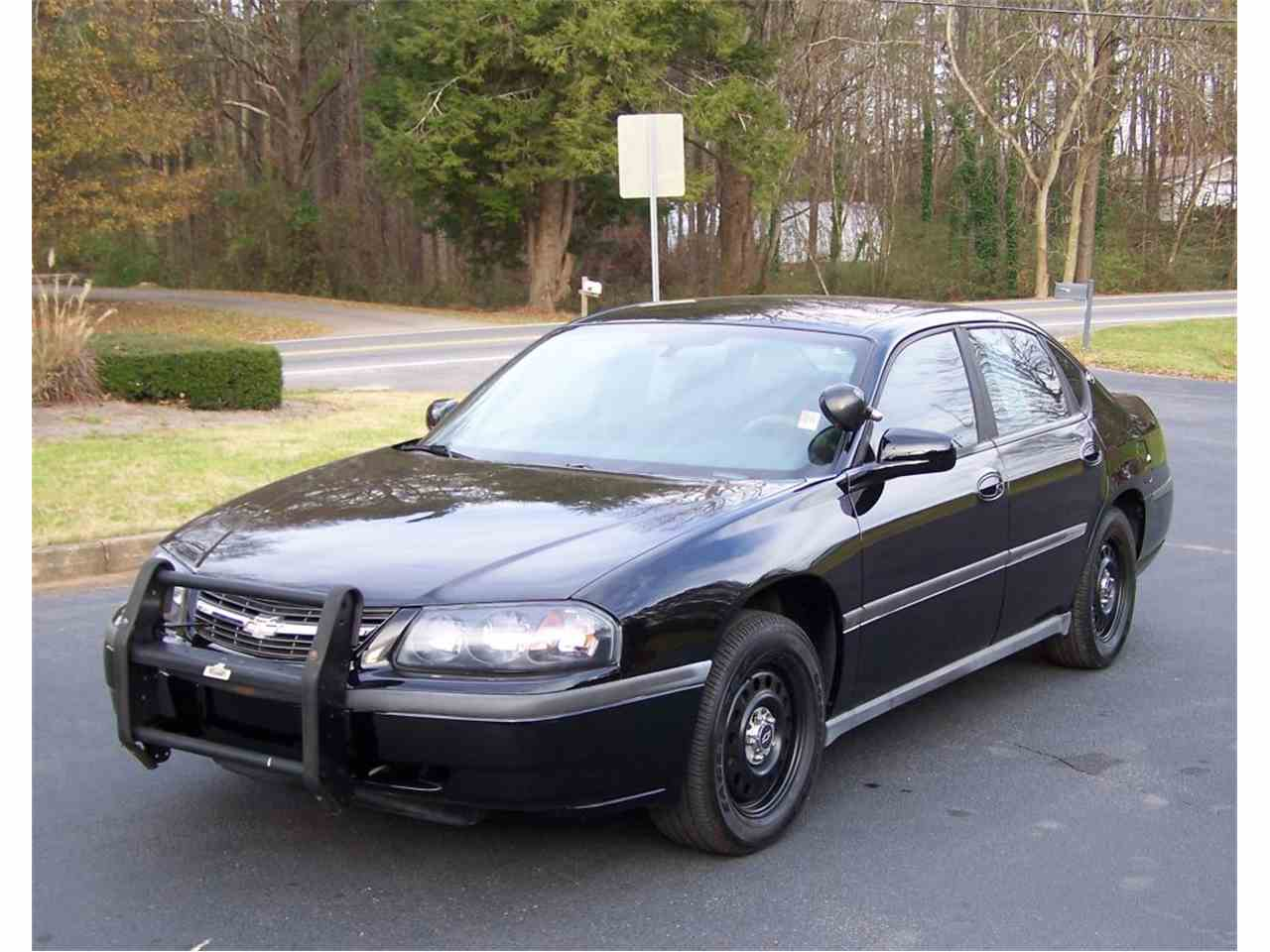 2005 chevrolet impala police 9c1 for sale cc 752208. Black Bedroom Furniture Sets. Home Design Ideas
