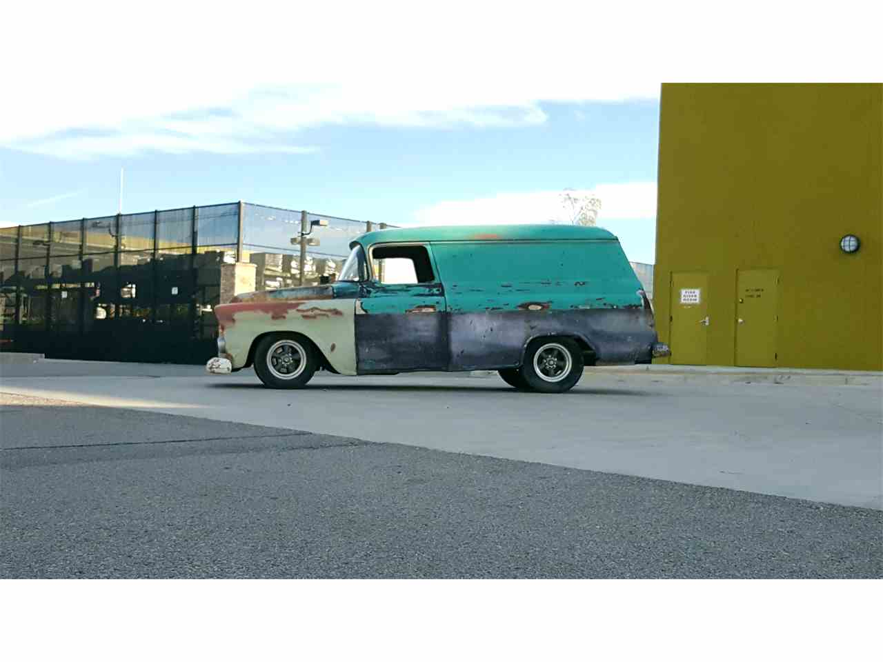 Large Picture of '57 Panel Truck - G51F