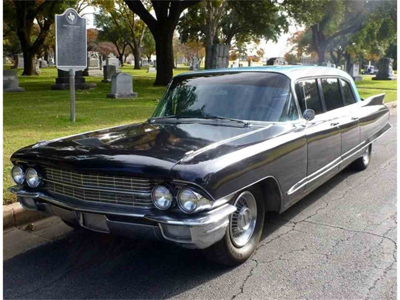 Large Picture of '62 Fleetwood Limousine - G5A0