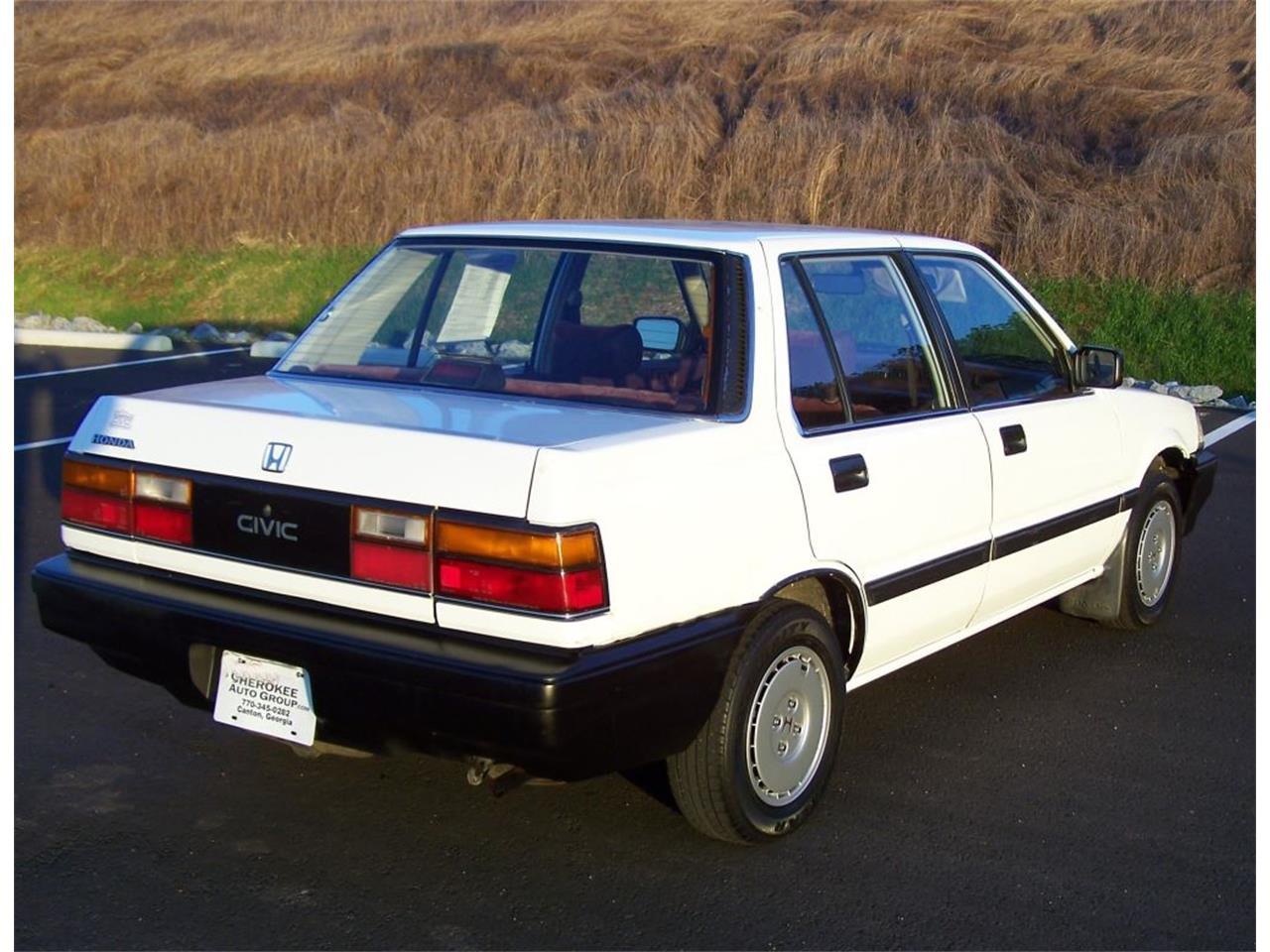 1987 Honda Civic 4dr Sedan 1.5 for Sale   ClassicCars.com   CC-754207