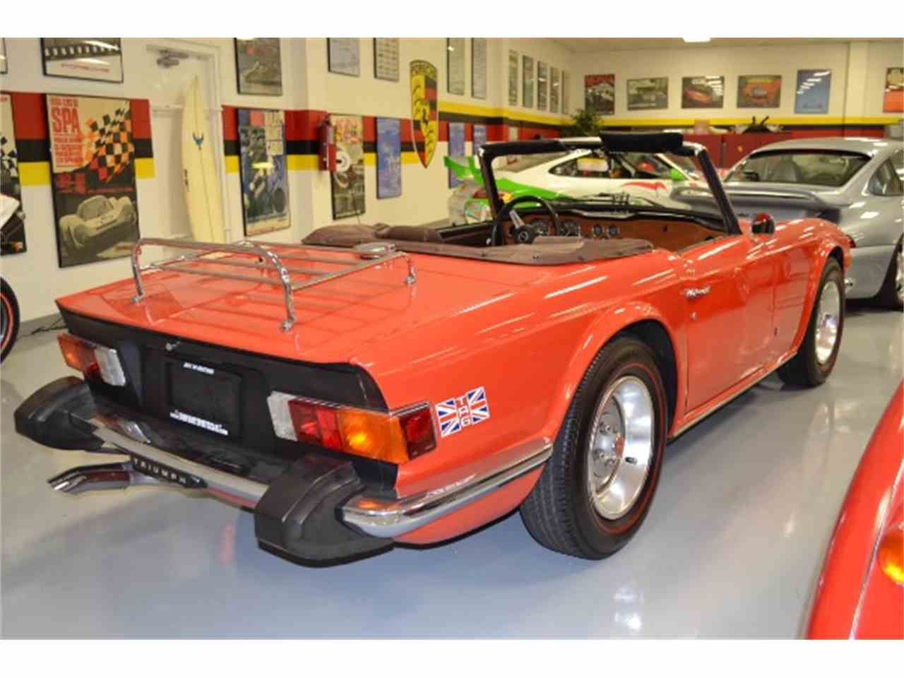 Large Picture of '76 TR6 located in Florida Offered by Tampa Bay Sports Cars - G70T