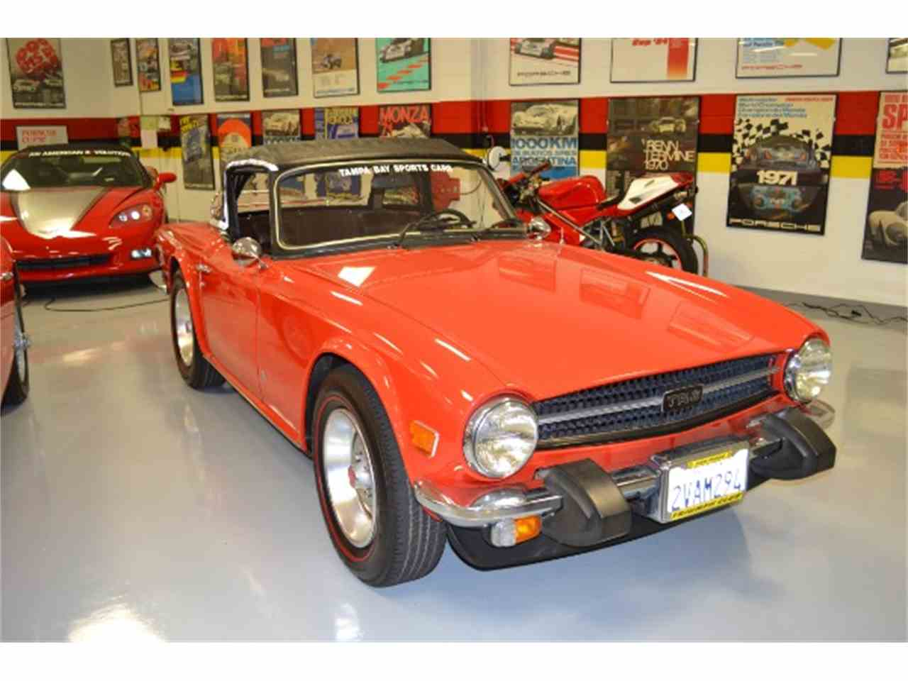 Large Picture of '76 TR6 - G70T