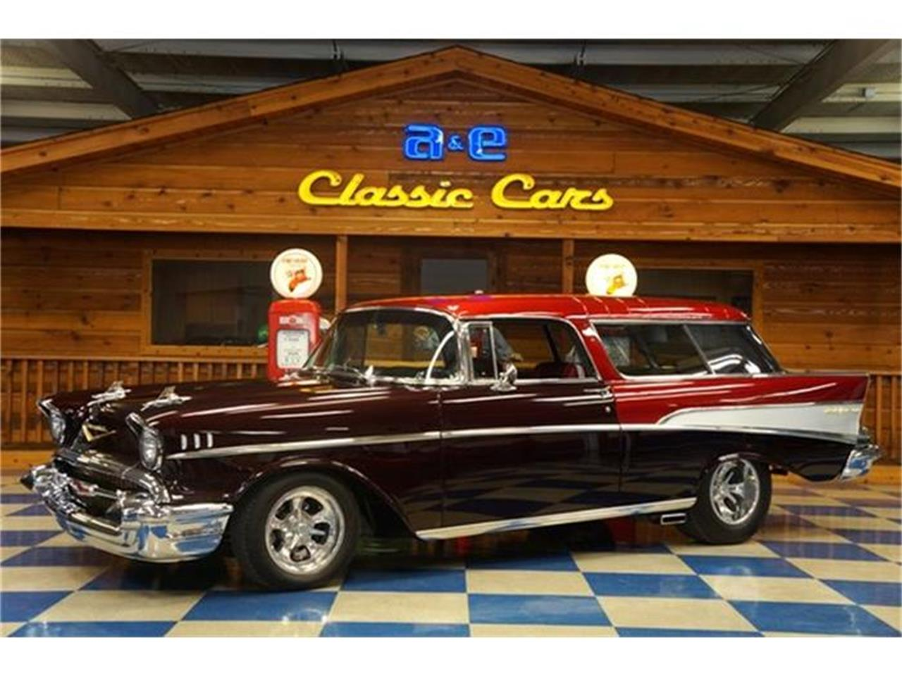 Large Picture of Classic '57 Chevrolet Bel Air Nomad located in Texas - G7FP