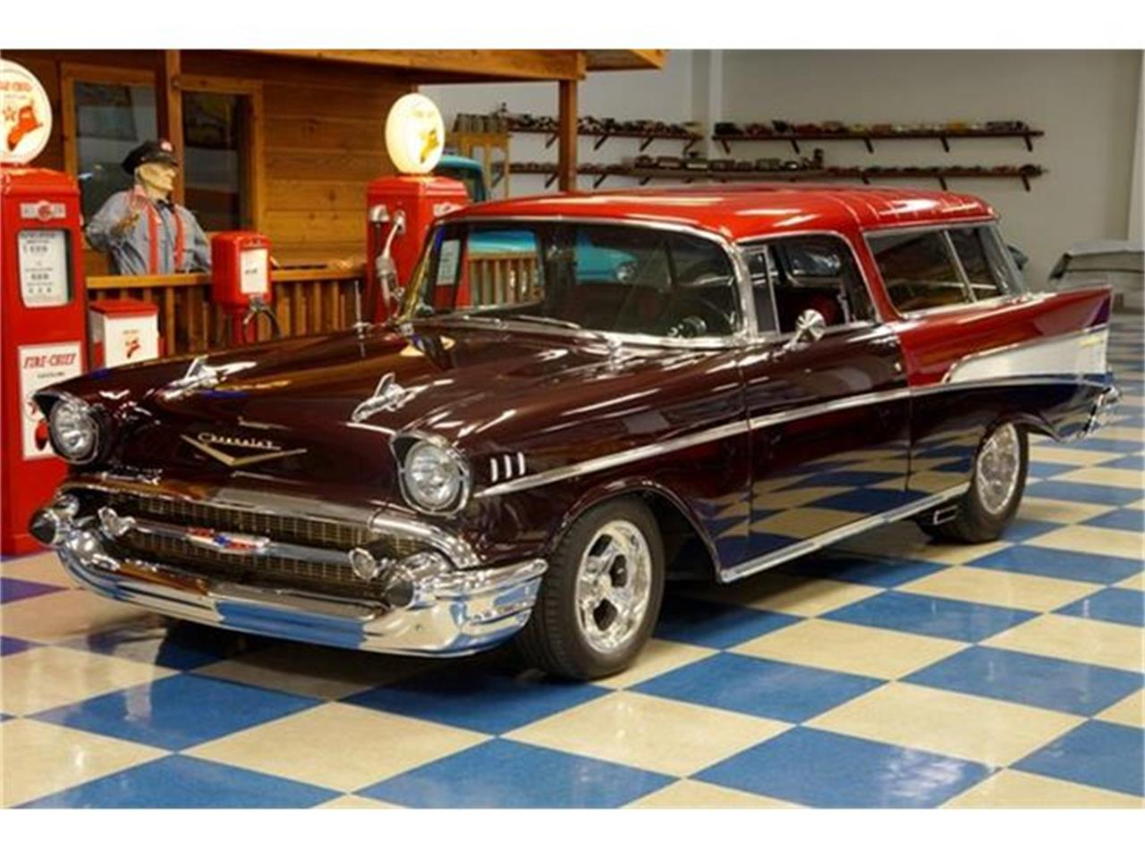 Large Picture of '57 Chevrolet Bel Air Nomad located in New Braunfels Texas - G7FP