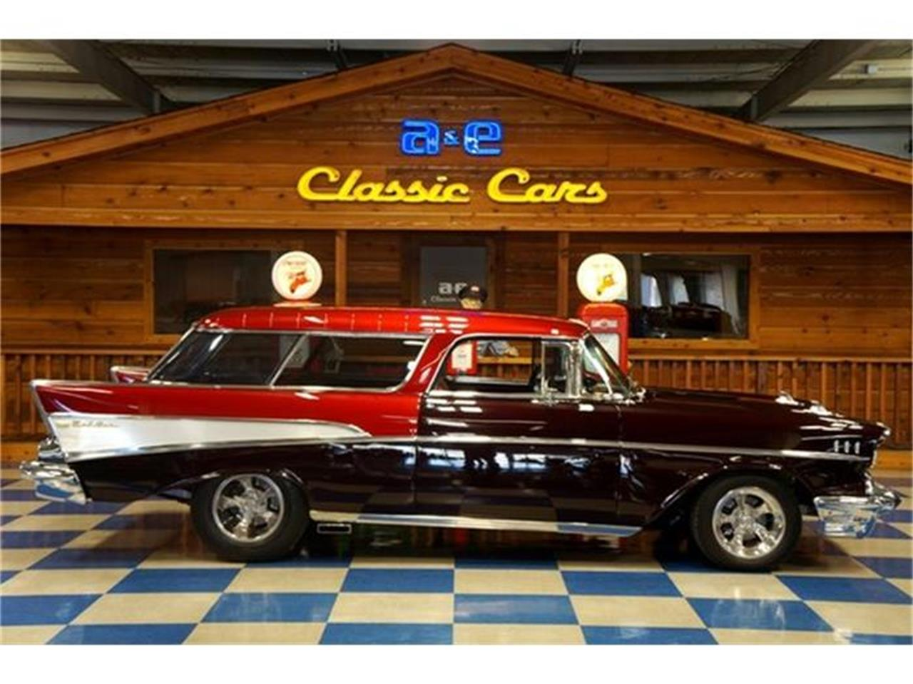 Large Picture of 1957 Bel Air Nomad located in New Braunfels Texas - $84,900.00 Offered by A&E Classic Cars - G7FP