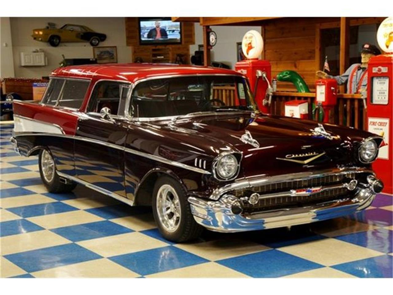 Large Picture of '57 Chevrolet Bel Air Nomad located in New Braunfels Texas Offered by A&E Classic Cars - G7FP