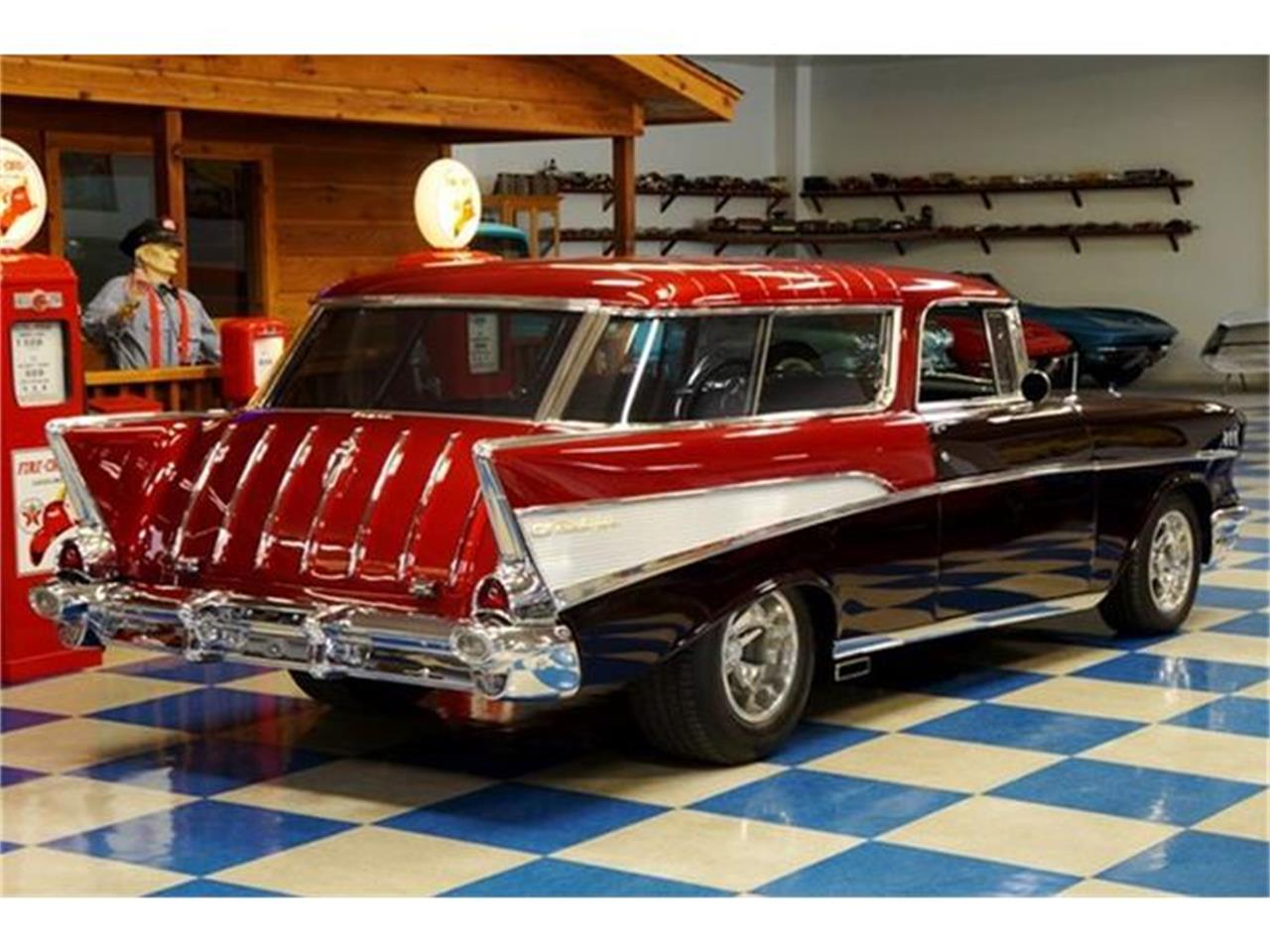 Large Picture of 1957 Chevrolet Bel Air Nomad located in Texas - G7FP