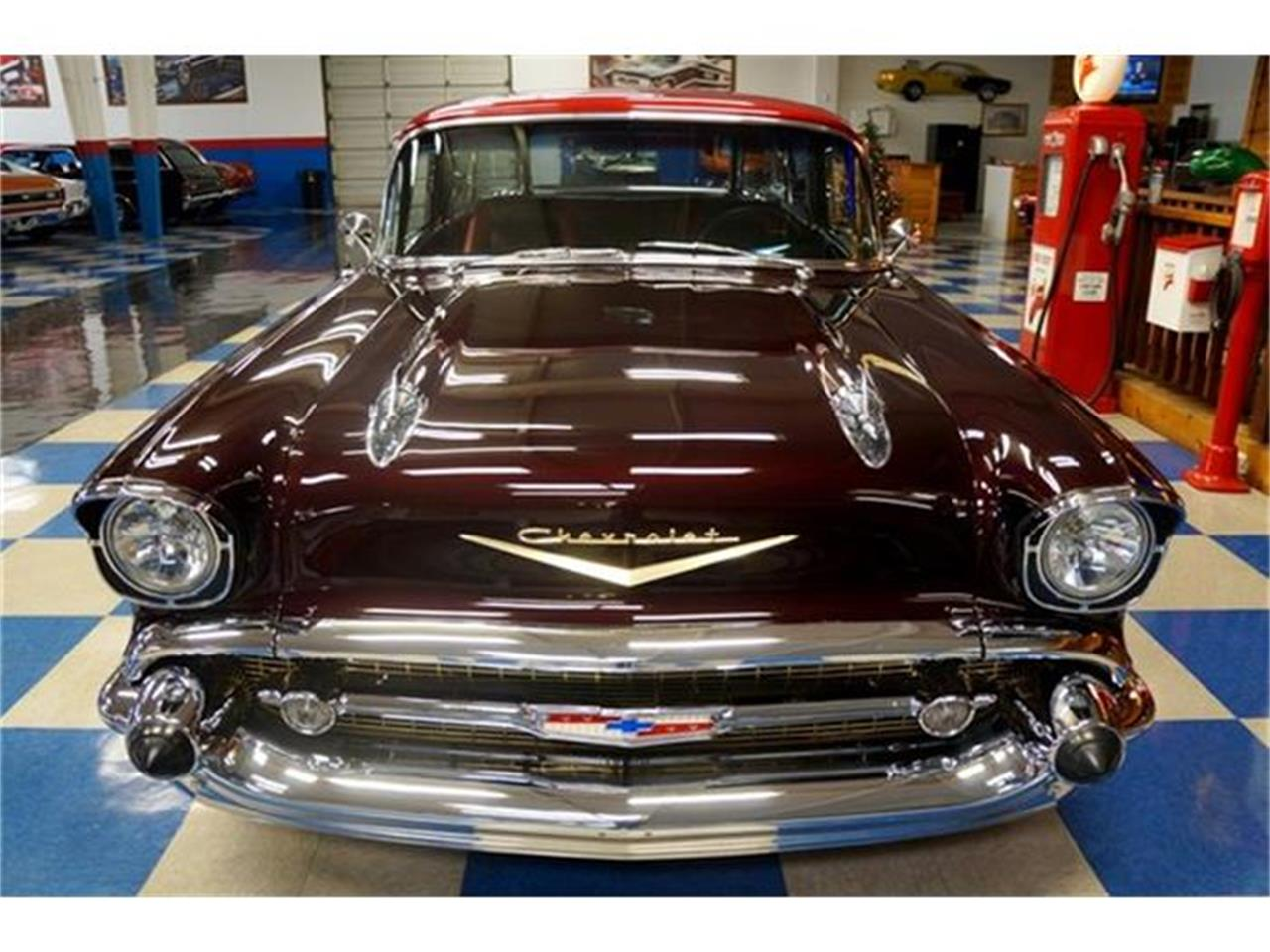 Large Picture of Classic 1957 Chevrolet Bel Air Nomad located in Texas - $84,900.00 Offered by A&E Classic Cars - G7FP