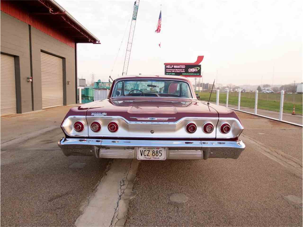 1963 chevrolet impala for sale cc 750070. Black Bedroom Furniture Sets. Home Design Ideas