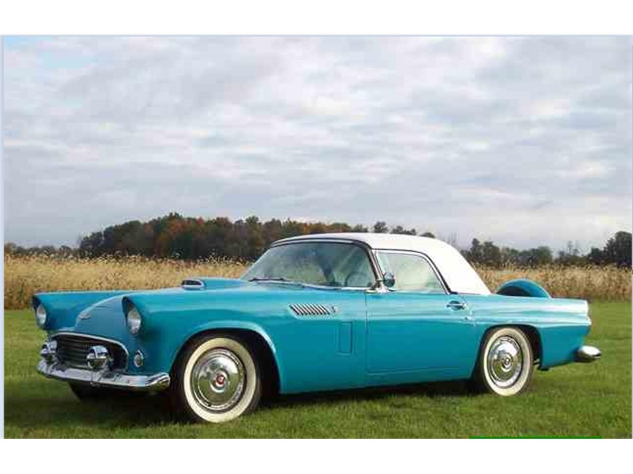 Large Picture of Classic '56 Thunderbird located in Dundee Michigan - G8UX