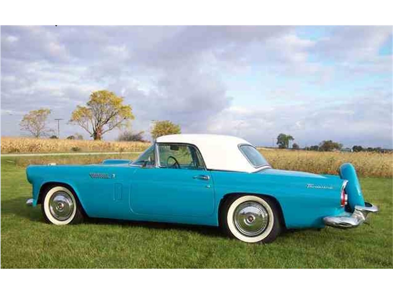 Large Picture of Classic 1956 Thunderbird located in Michigan Offered by a Private Seller - G8UX