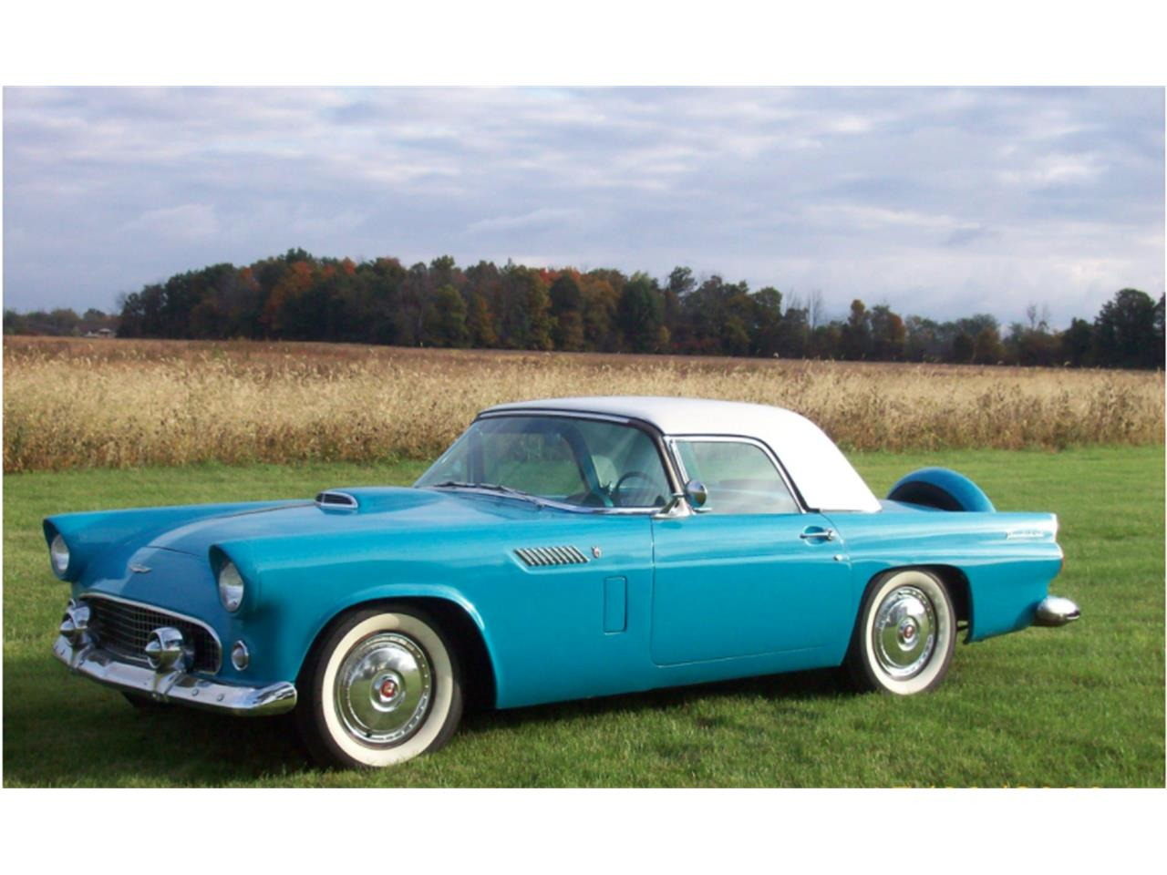 Large Picture of '56 Thunderbird located in Dundee Michigan - $30,000.00 - G8UX