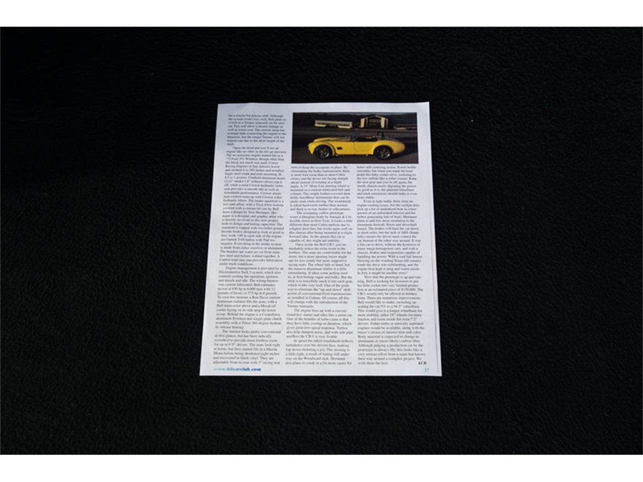 Large Picture of Classic 1965 Shelby Cobra located in Charlotte North Carolina - $74,900.00 - G3C0
