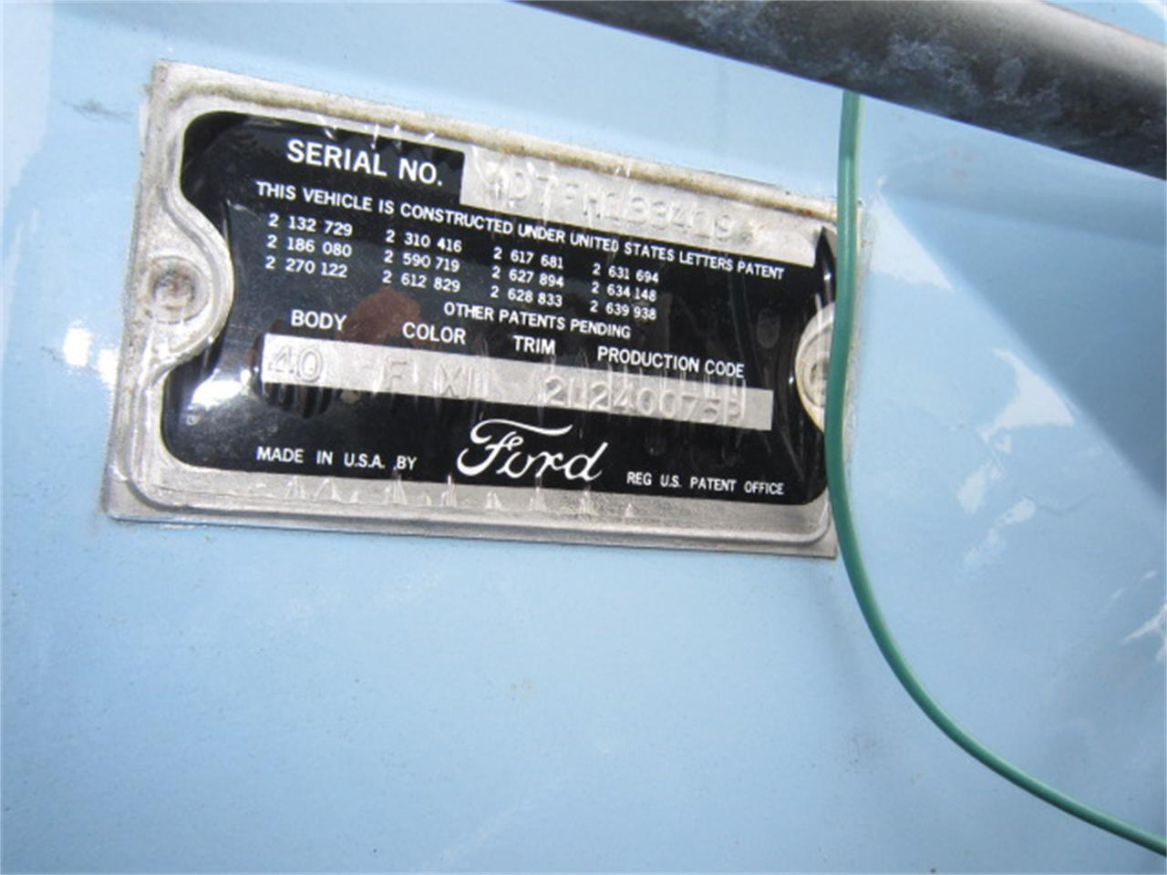 Large Picture of 1957 Thunderbird - G9B2