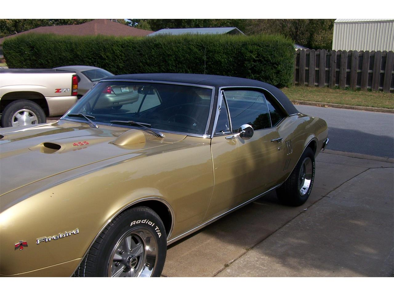 Large Picture of Classic 1967 Firebird located in SPRINGDALE Arkansas Offered by a Private Seller - G9J7