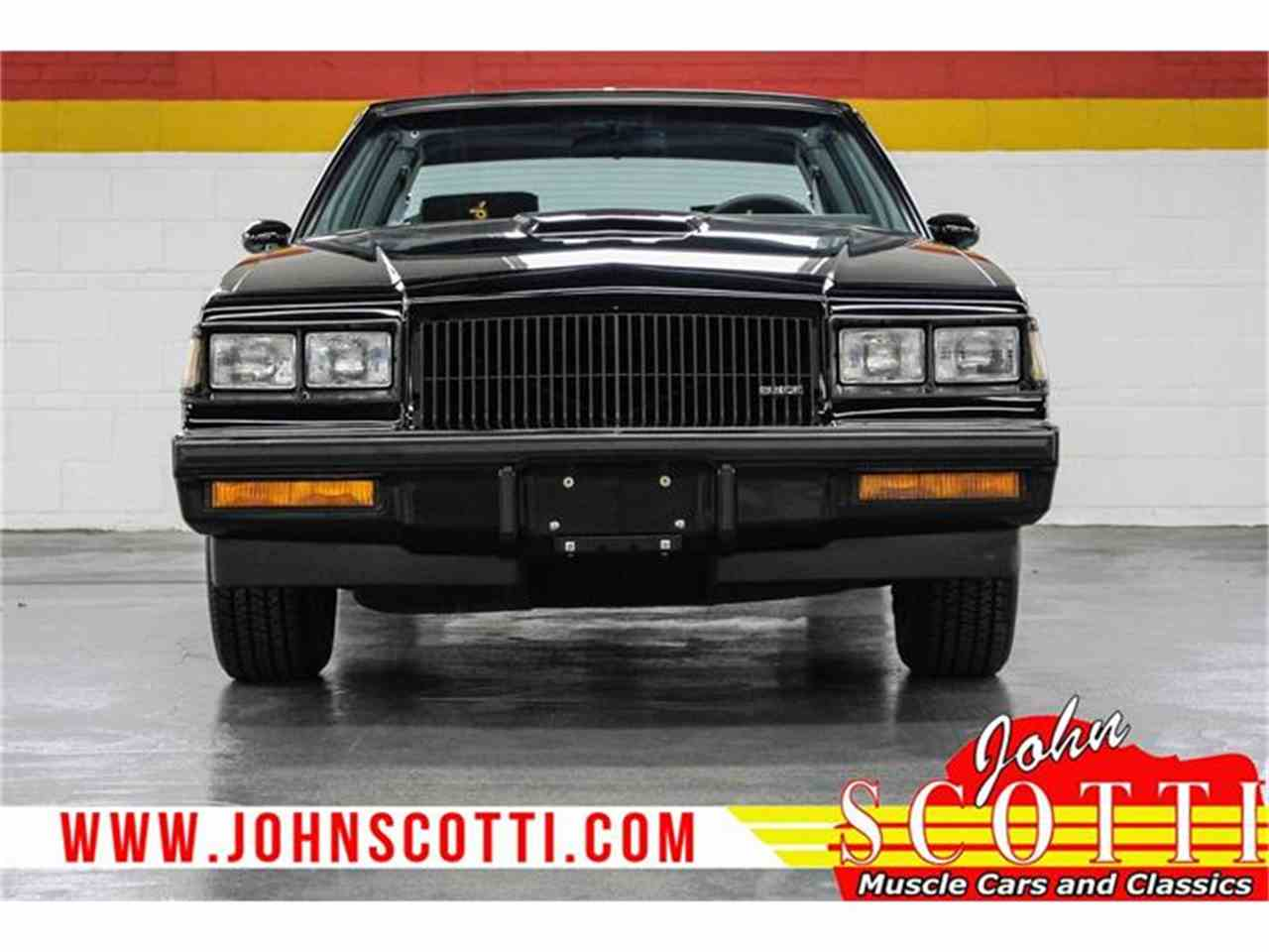Large Picture of '87 Grand National - G9O1