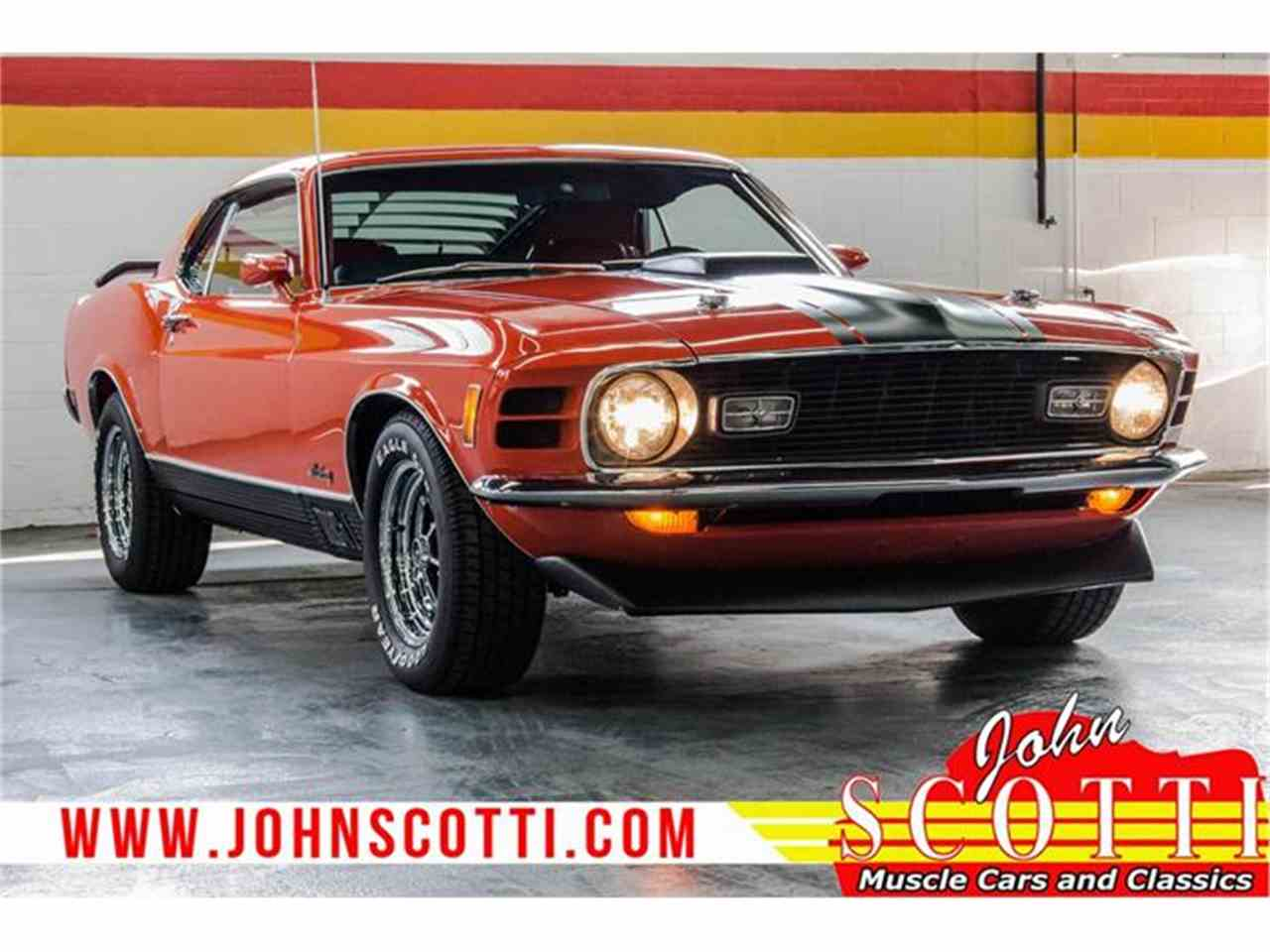 Large Picture of '70 Mustang Mach 1 - G9ZZ