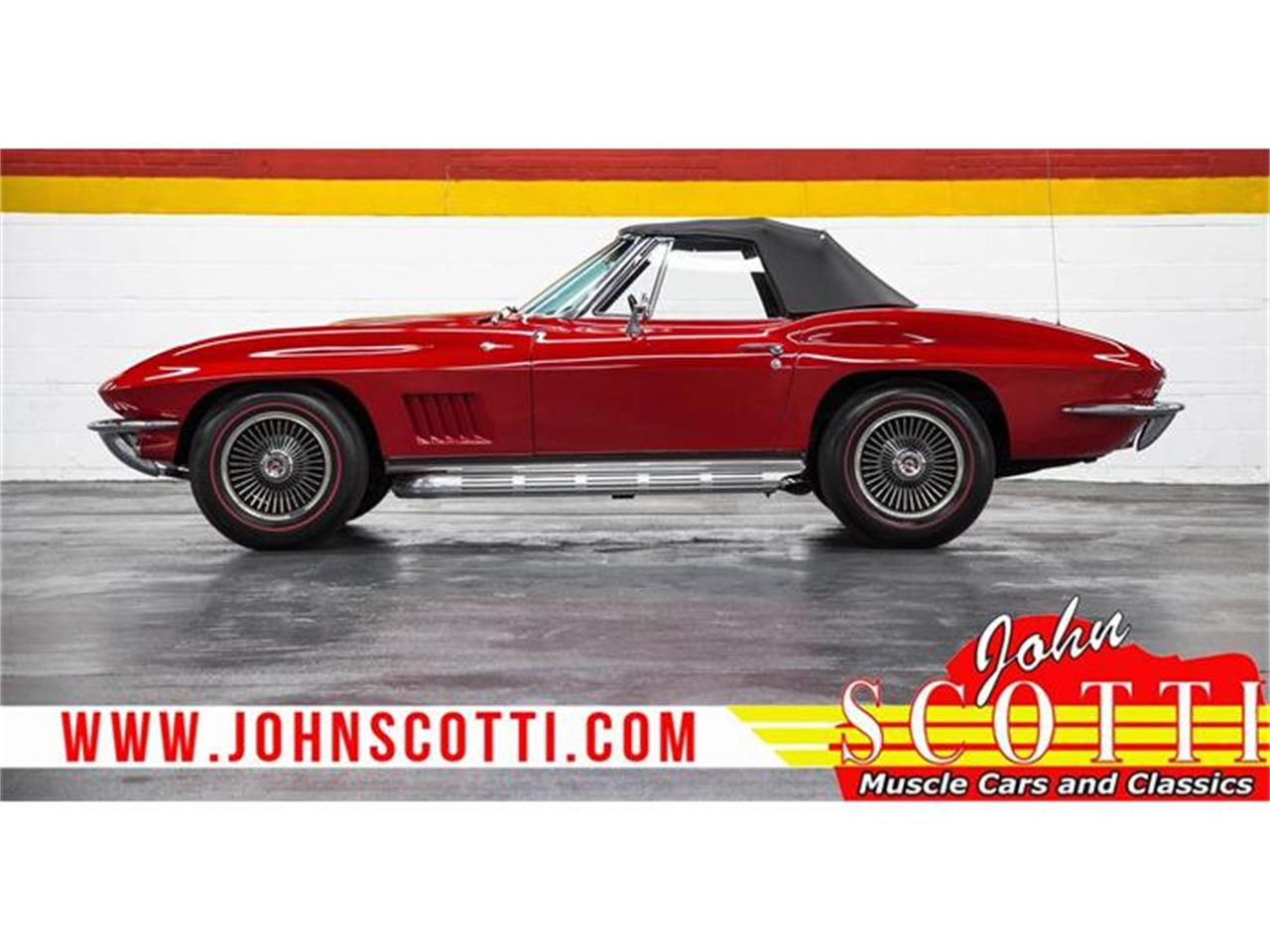 Large Picture of 1967 Corvette located in Montreal Quebec - GA0F