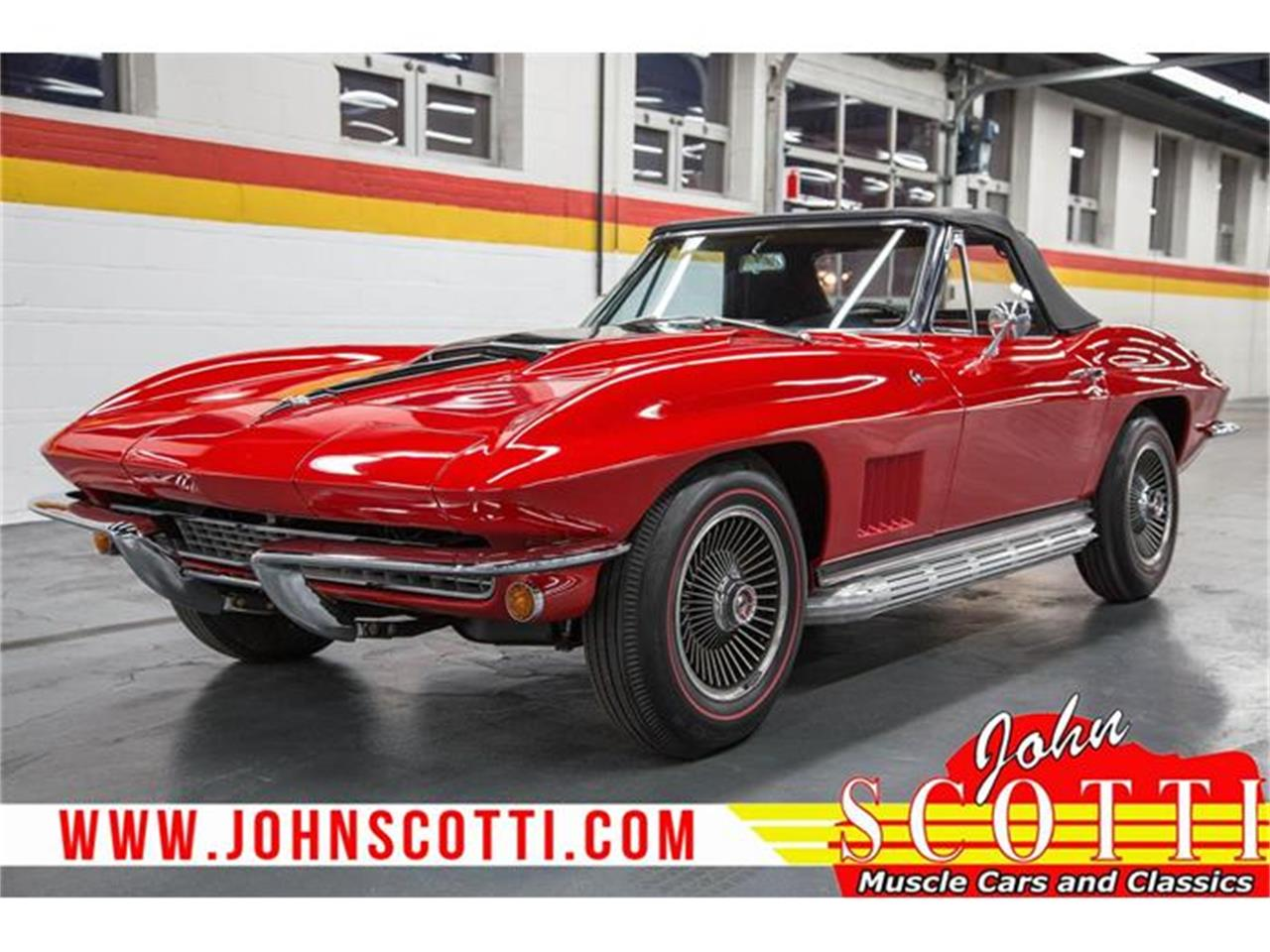 Large Picture of Classic '67 Chevrolet Corvette - $59,990.00 Offered by John Scotti Classic Cars - GA0F