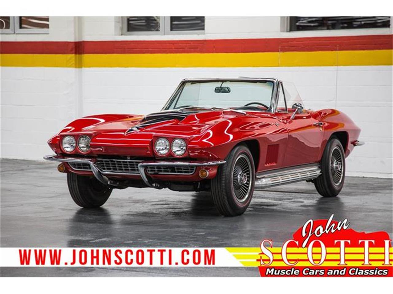 Large Picture of Classic 1967 Corvette located in Quebec Offered by John Scotti Classic Cars - GA0F