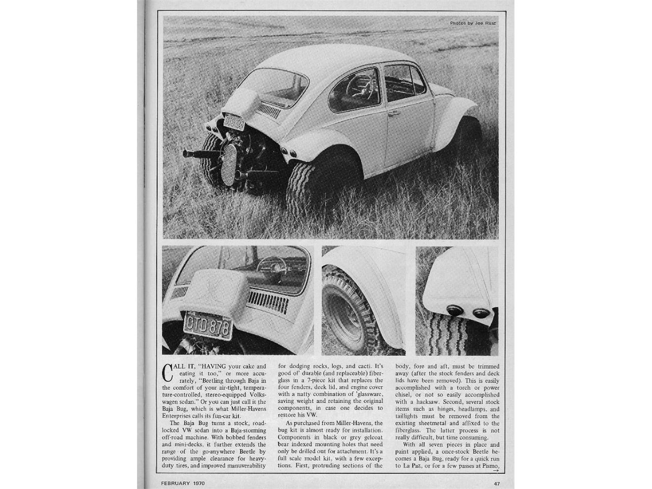 Large Picture of Classic 1966 Volkswagen Beetle located in Missouri Offered by a Private Seller - GAKS