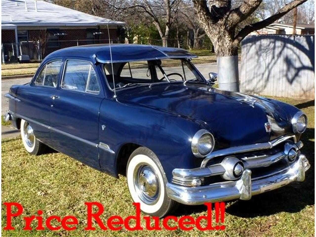 Large Picture Of Clic 1951 Deluxe 2 Door Sedan Located In Texas Gcby